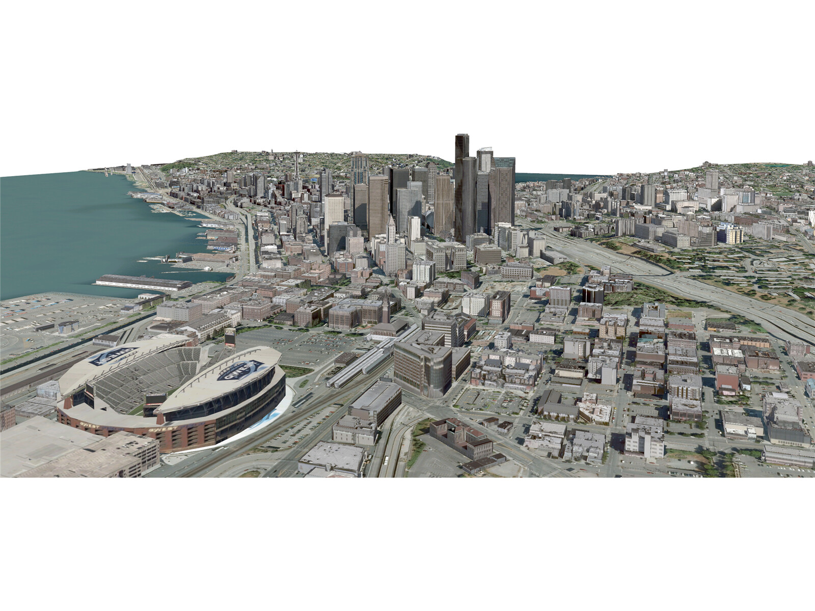Seattle City 3D Model
