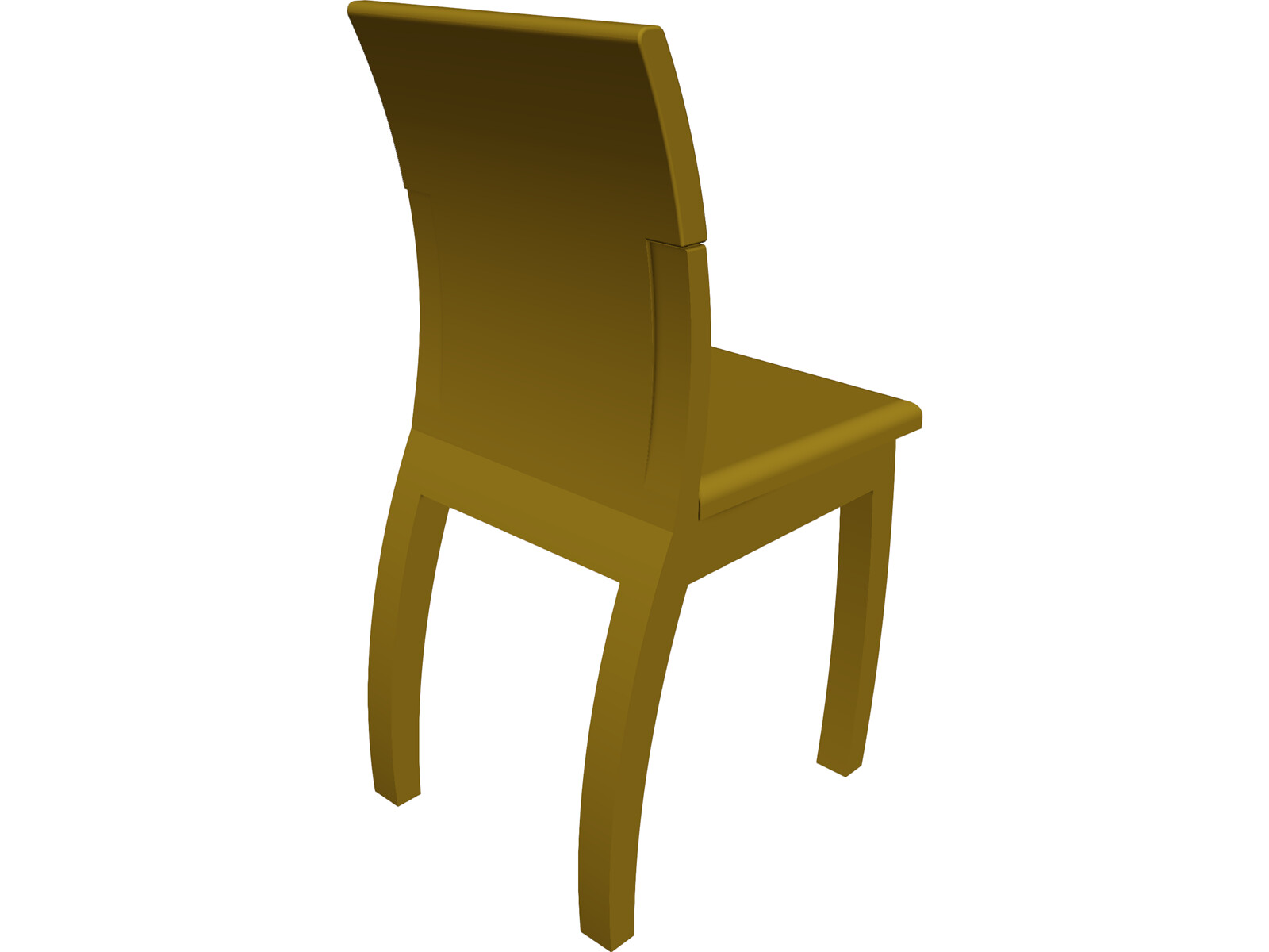 Chair 3D CAD Model