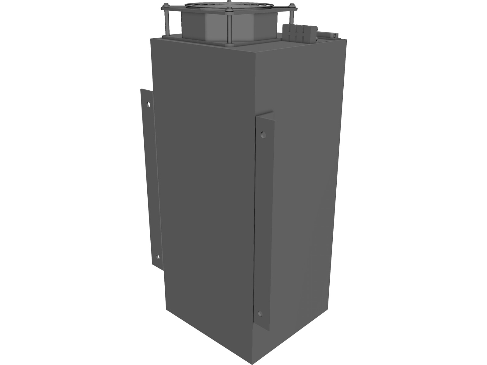 Lambda power supply 3D CAD Model