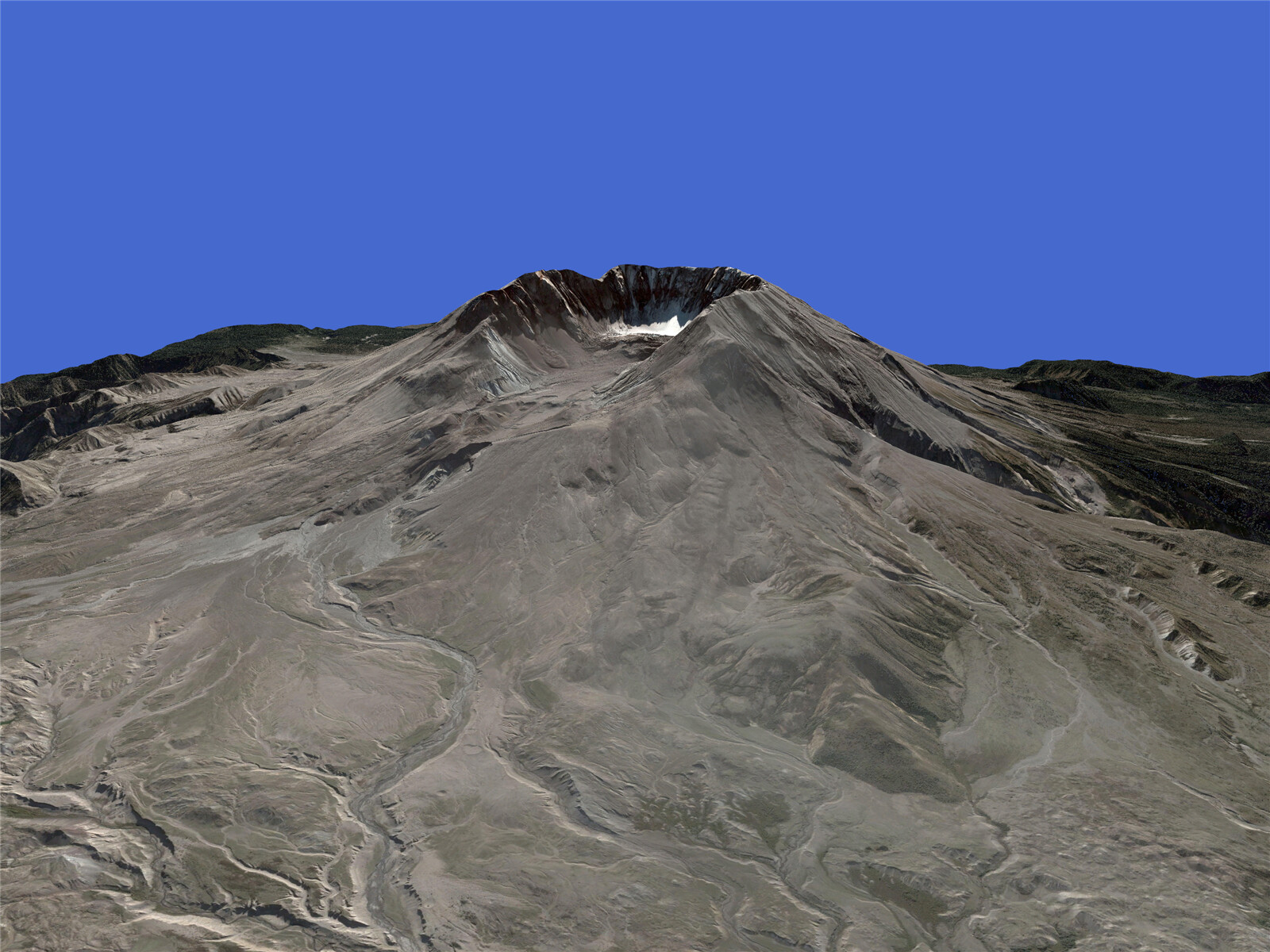 Mount St.Helens 3D Model