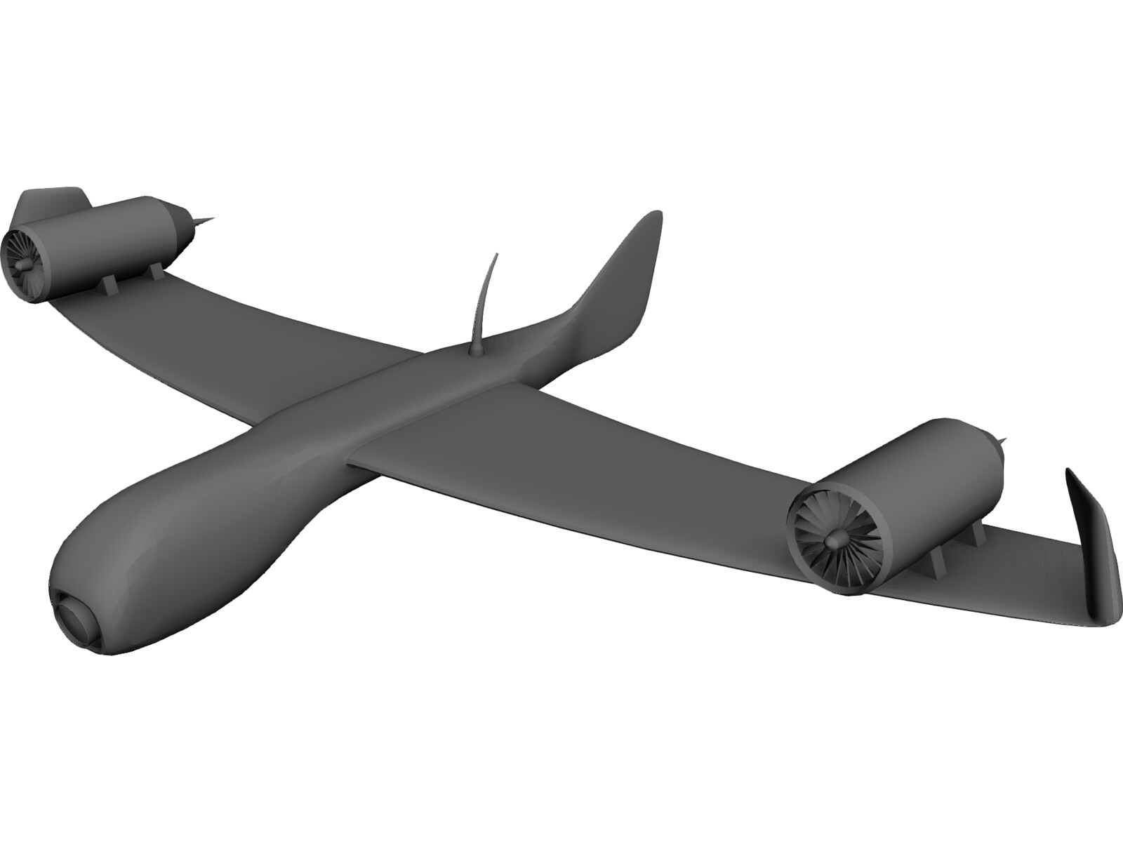Differential Turbofan UAV Concept 2A7-XP