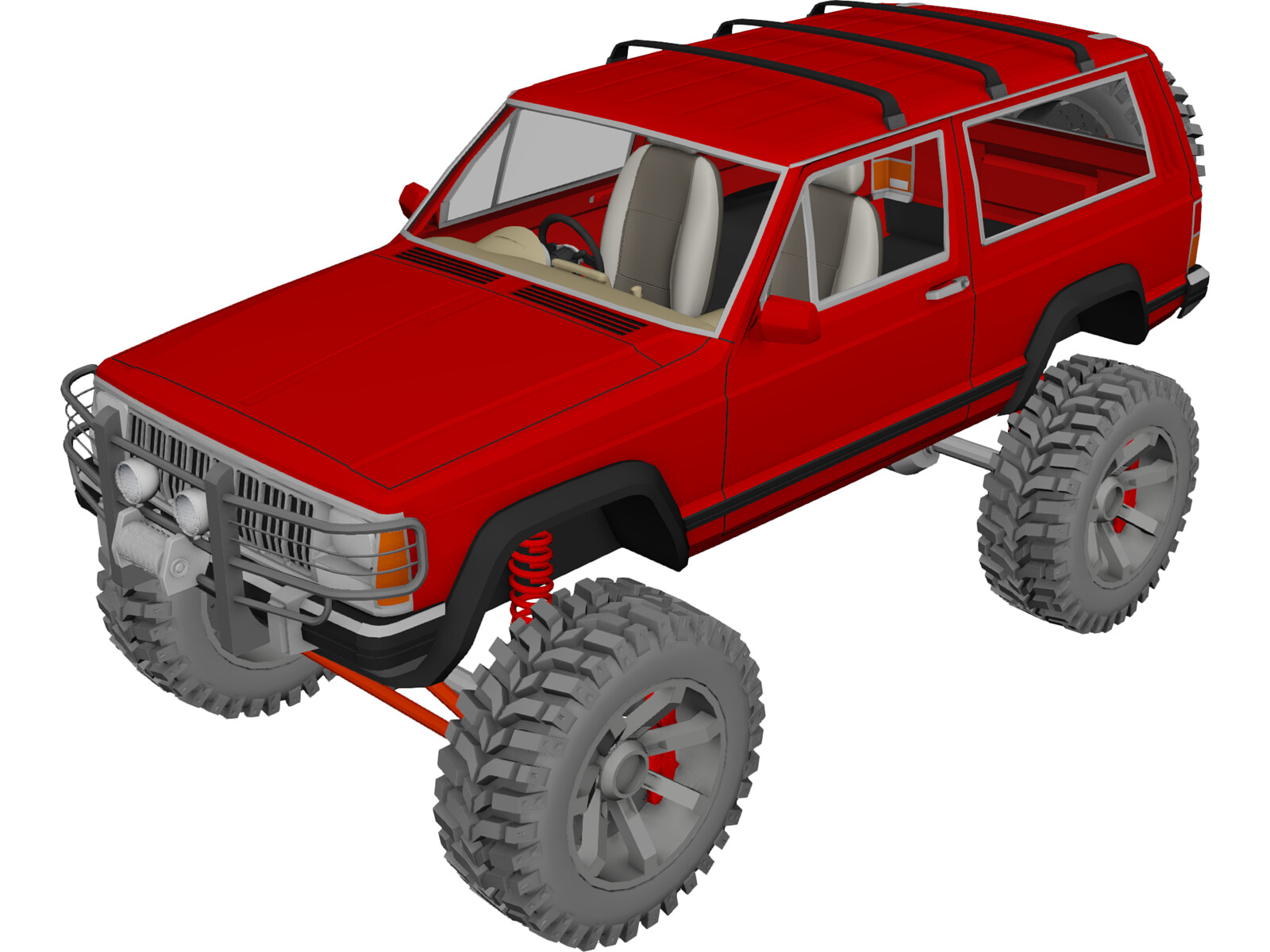 Jeep Cherokee Sport [Lifted]