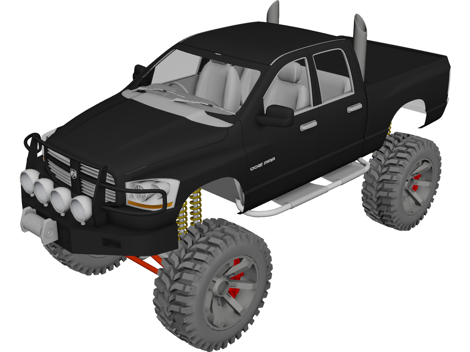Dodge Ram Offroad (2007) [Lifted]