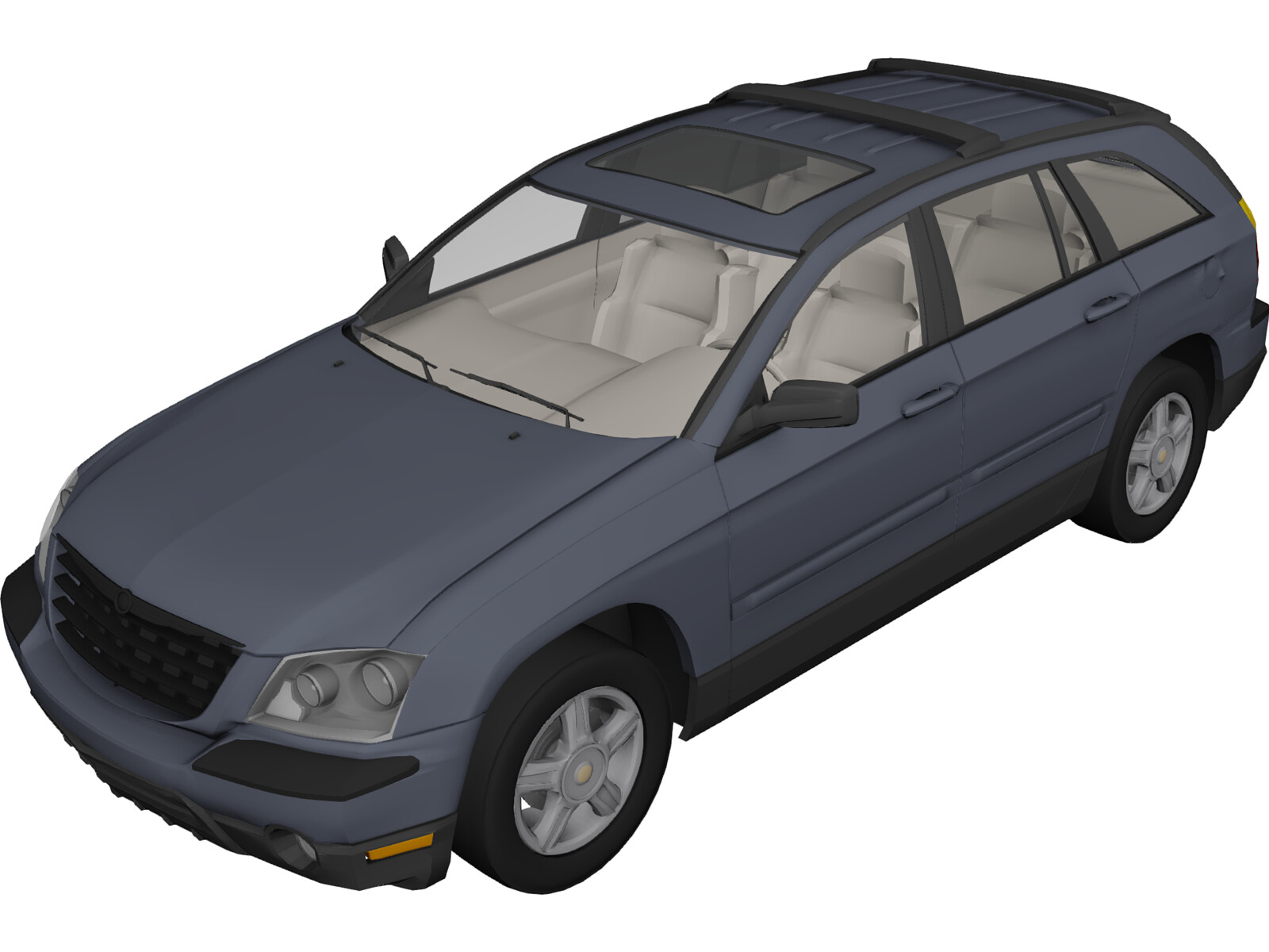 2012 Ford Escape Oil Type >> Chrysler Pacifica 3D Model - 3D CAD Browser