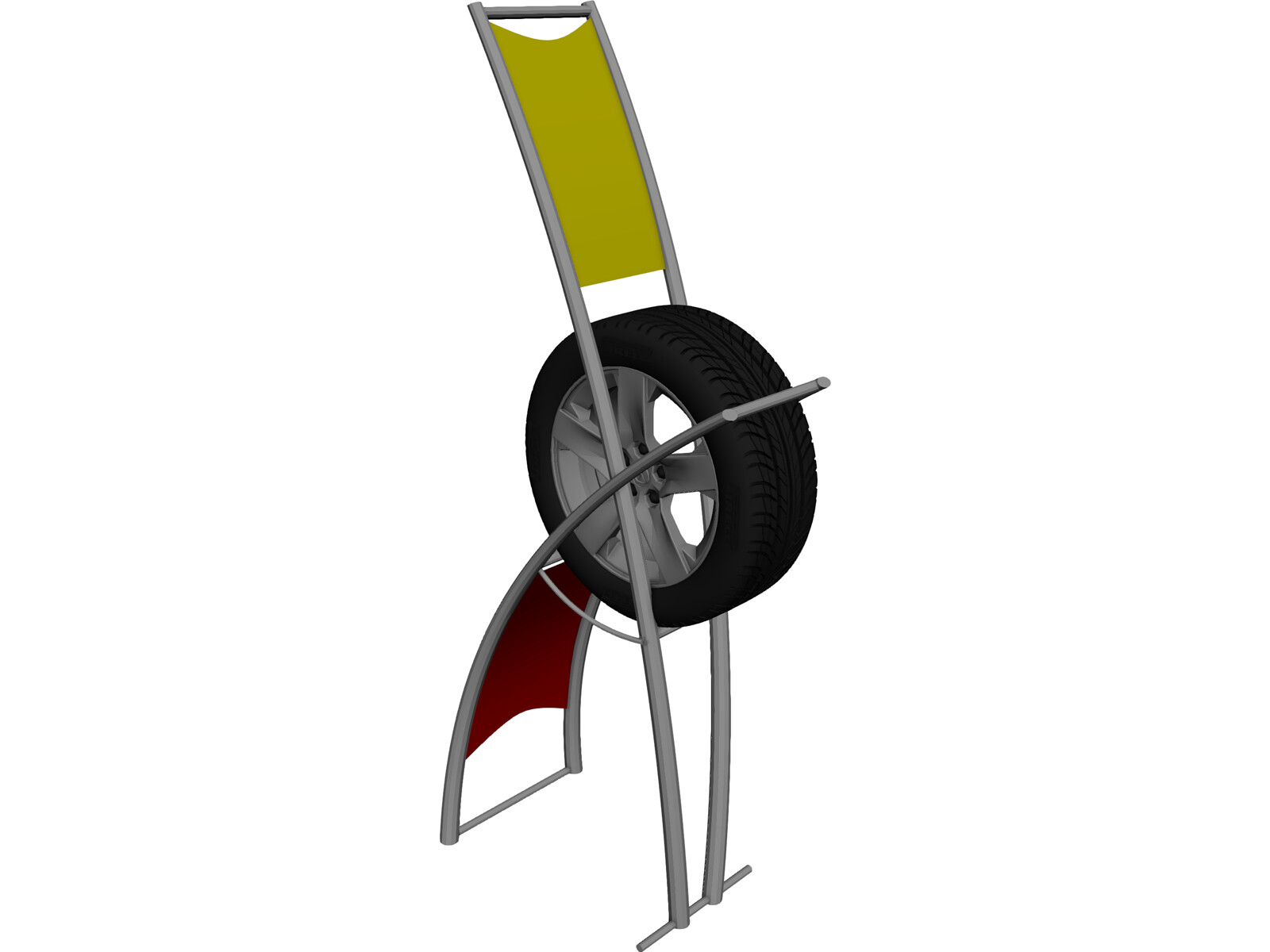 Exhibitor Tire Stand