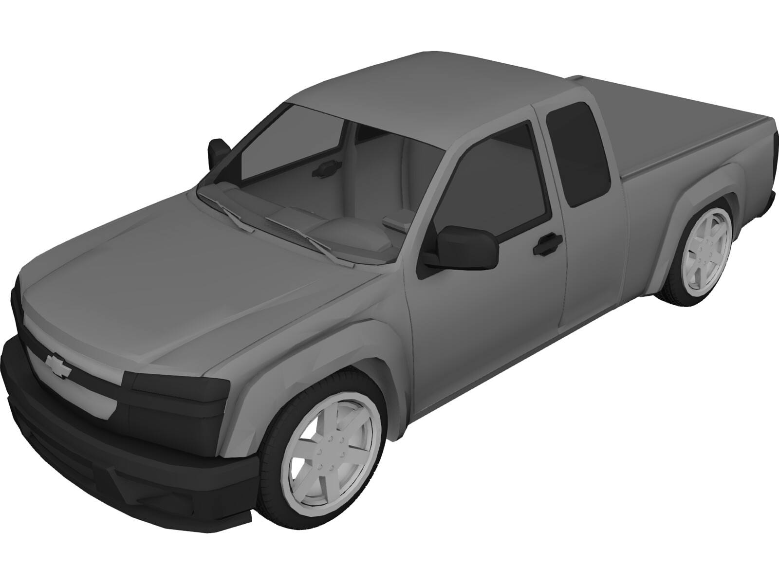 Chevrolet Colorado (2008) 3D Model