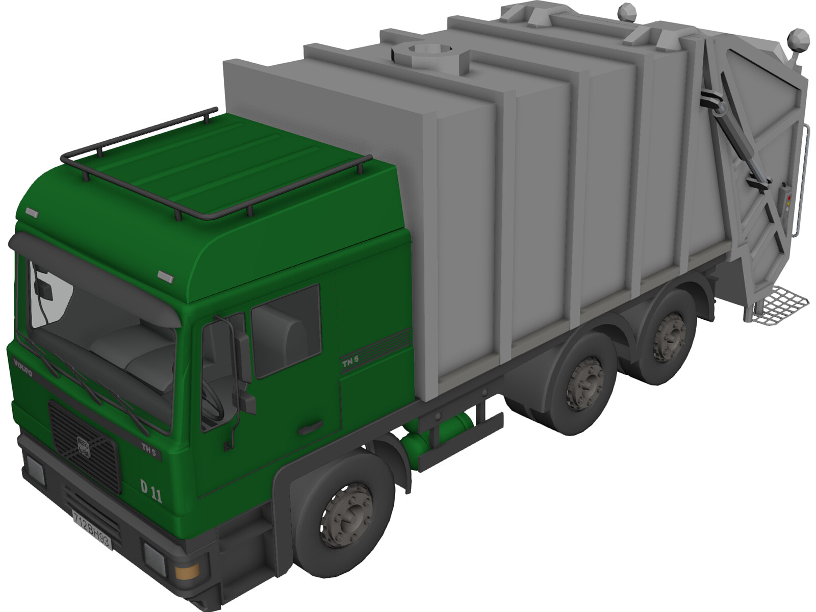 Volvo TH5 Garbage Truck