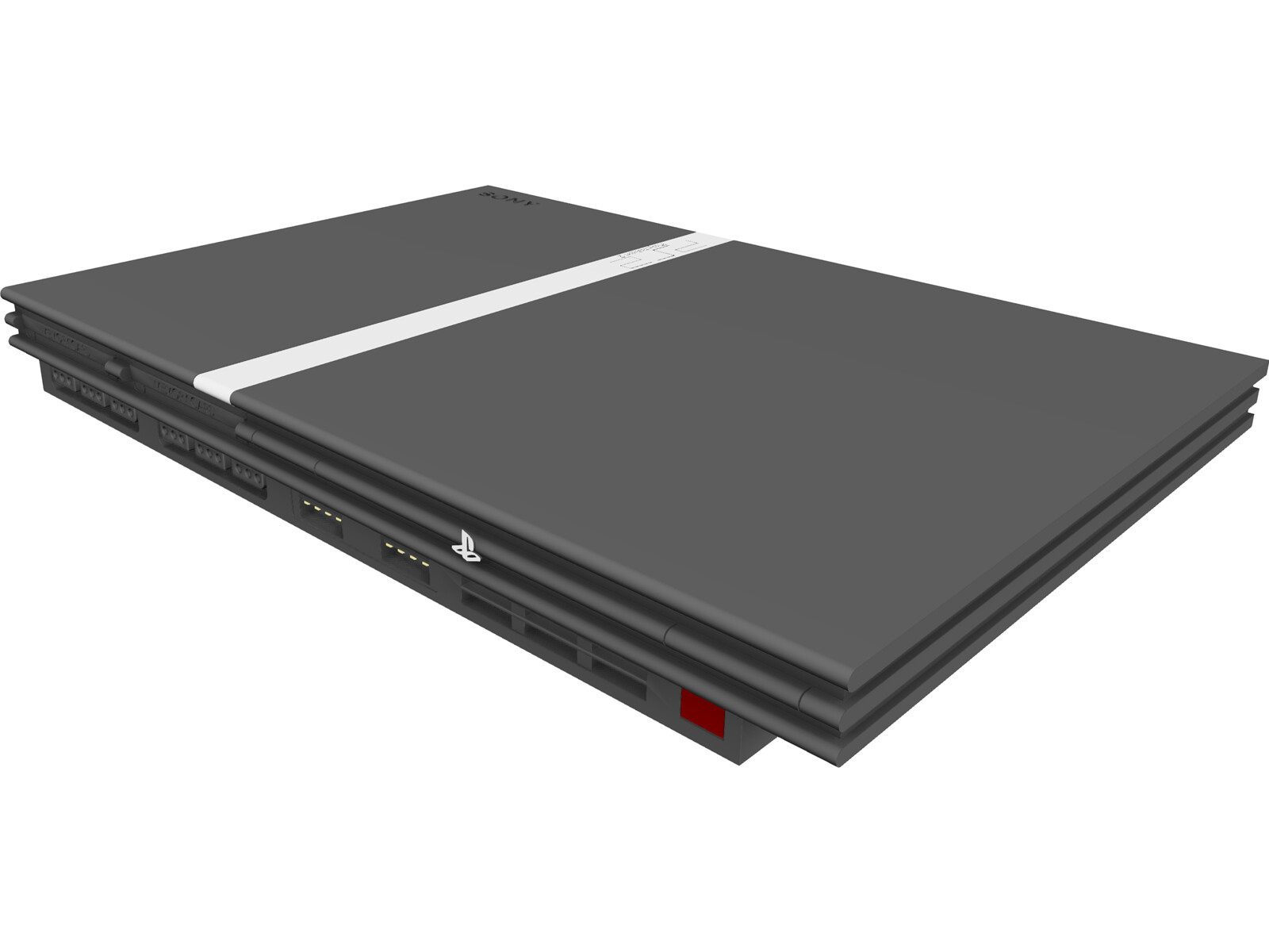Sony Playstation 2 3D Model