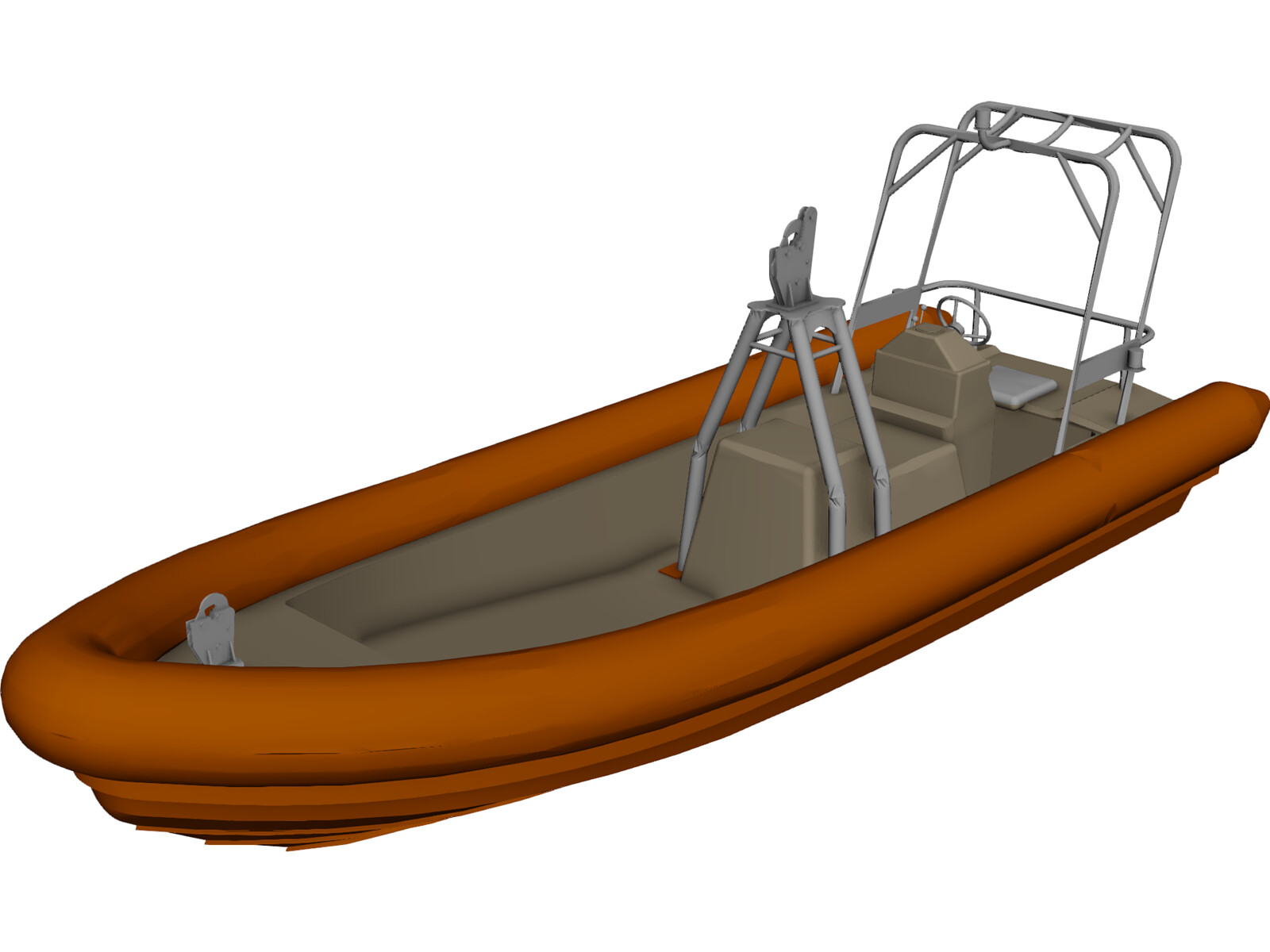 Search and Rescue Craft 3D Model