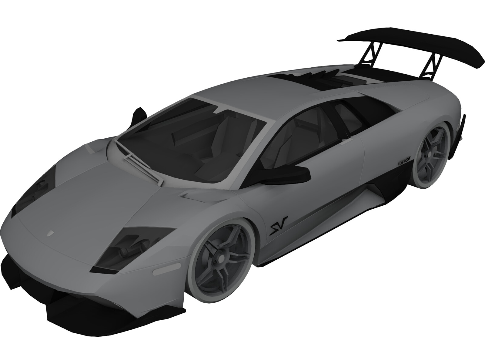 lamborghini murcielago lp670 4 sv 3d model 3d cad browser. Black Bedroom Furniture Sets. Home Design Ideas