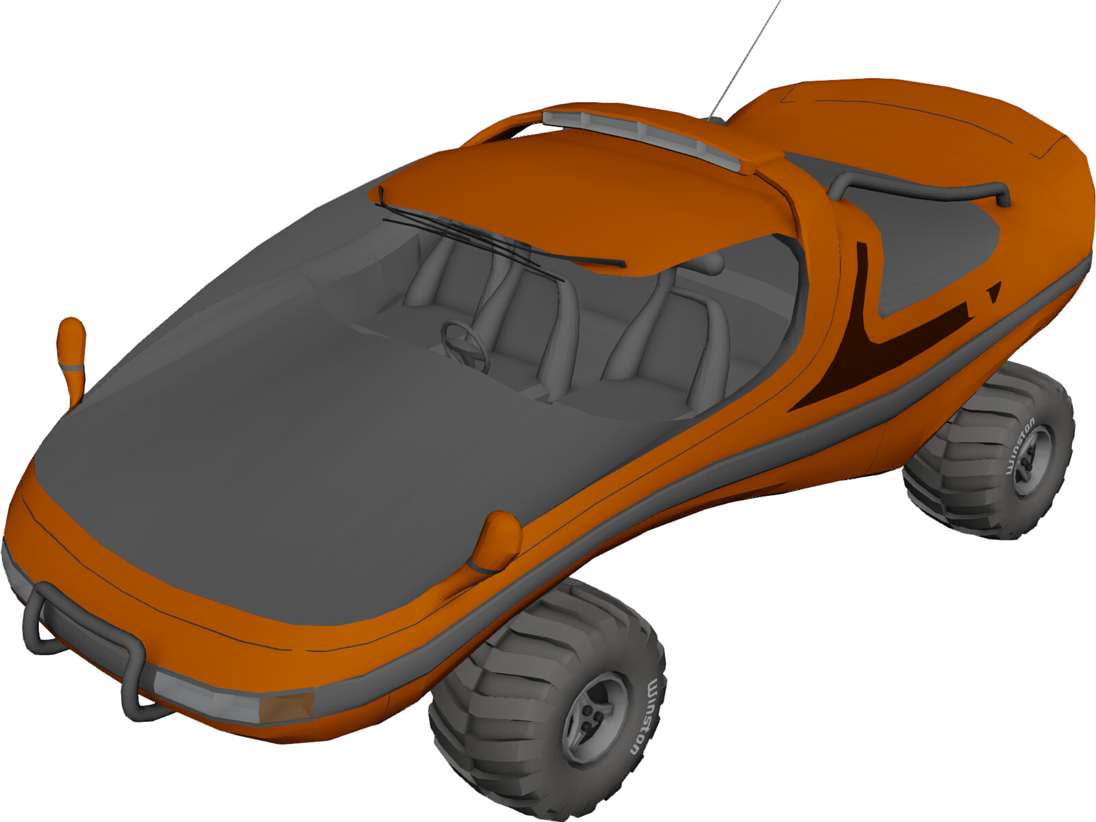 Buggy Concept 3D Model
