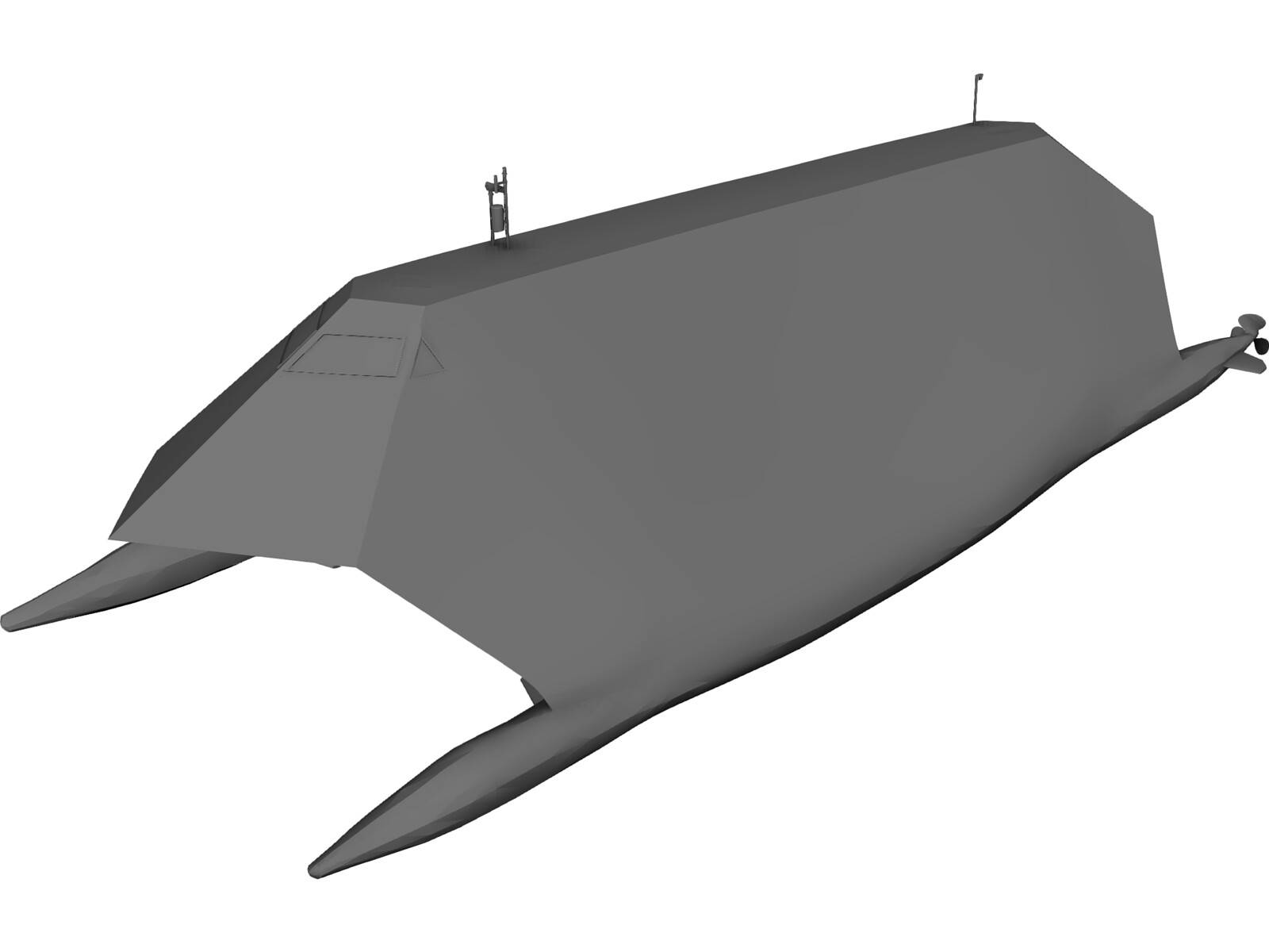 Lockheed Sea Shadow 3D Model