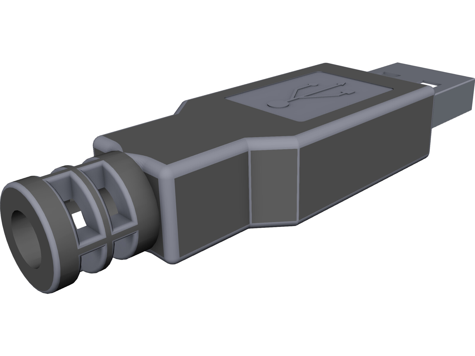 Usb Connector 3d Cad Model Download 3d Cad Browser