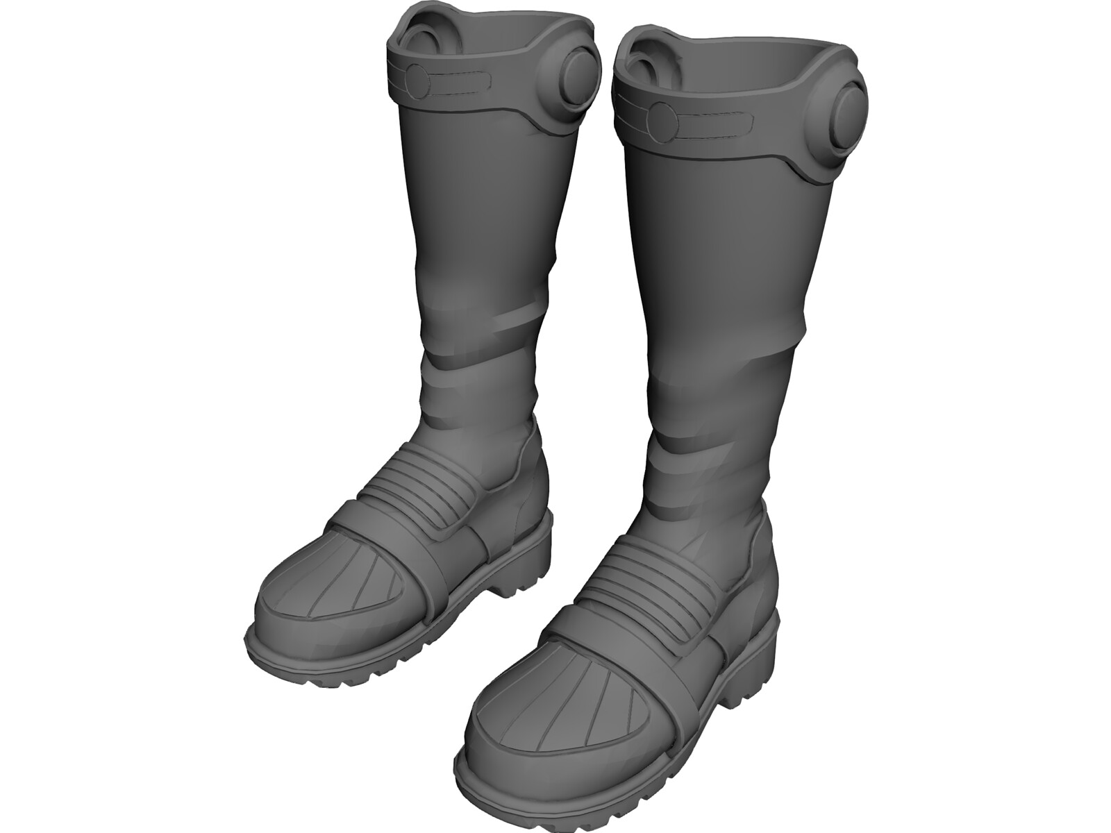 SciFi Boots Female for Genesis   3D Models and 3D Software by Daz 3D
