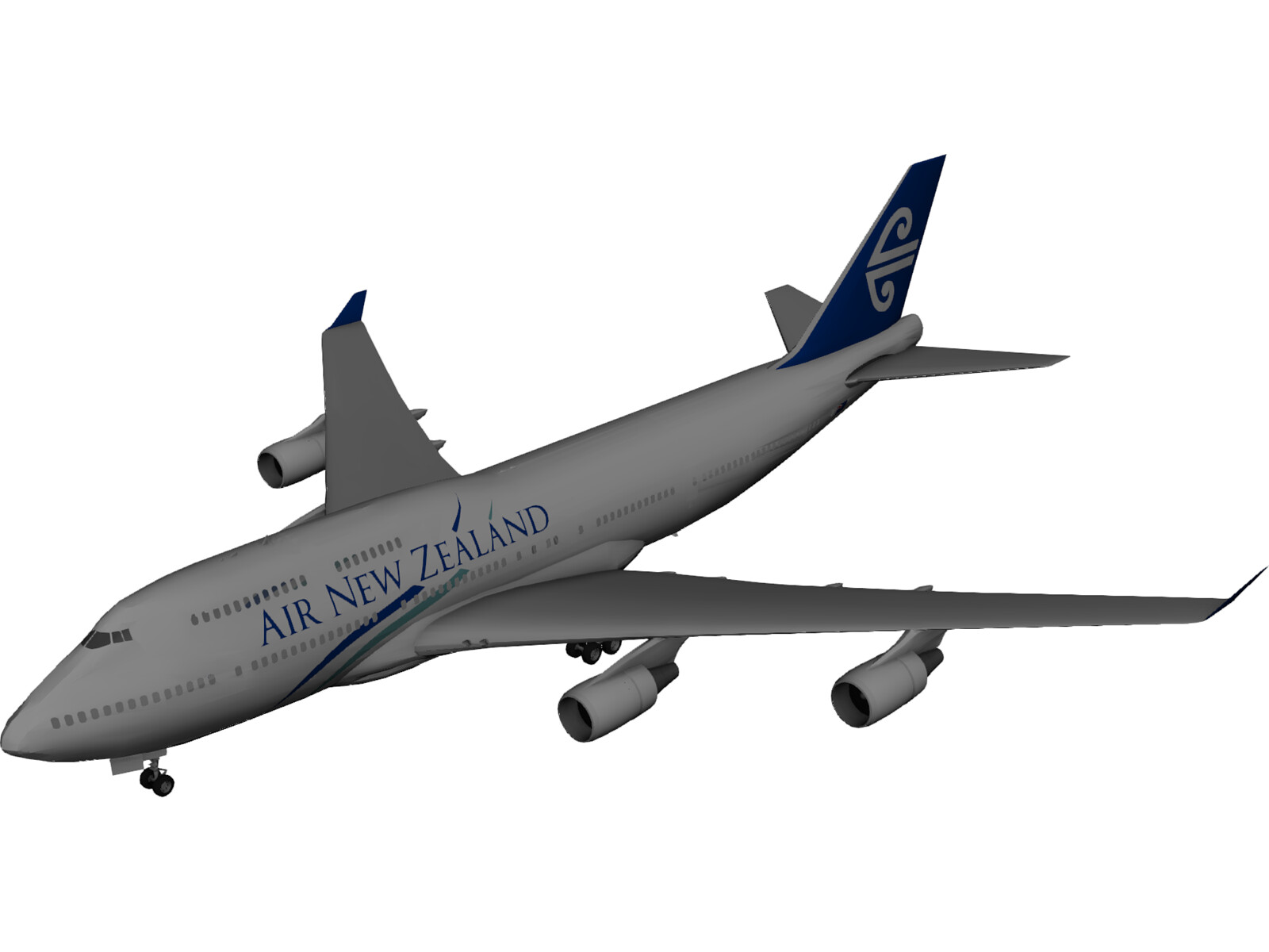 Boeing 747-400 Air New Zealand