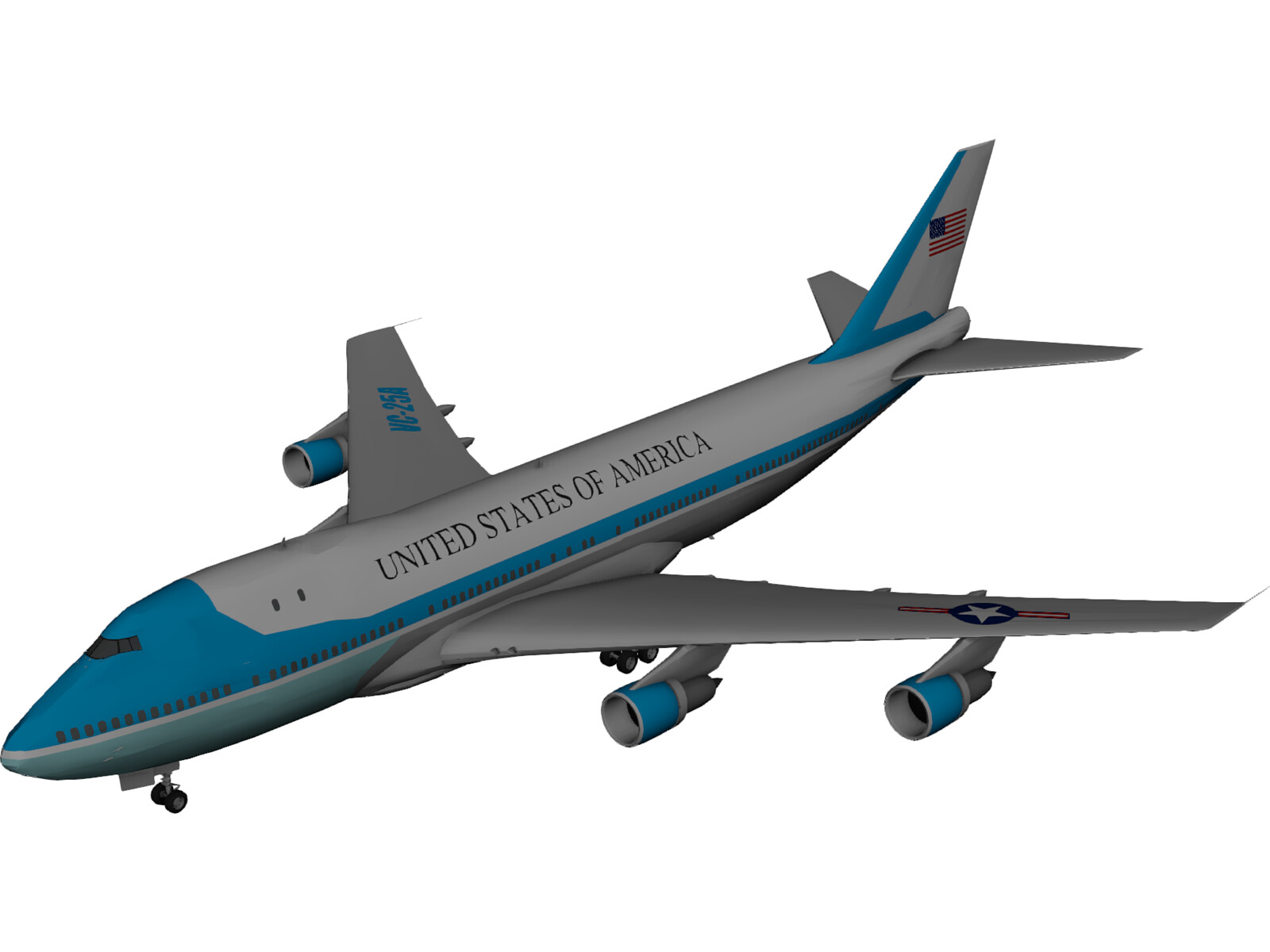Air Force One USA Boeing 707