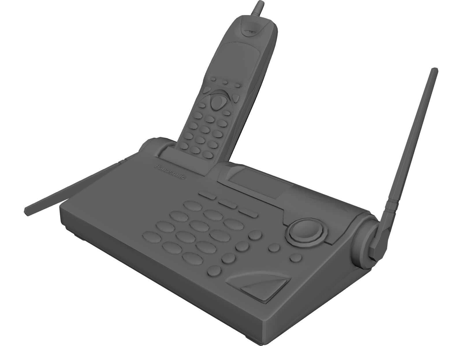 Phone Panasonic 3D Model
