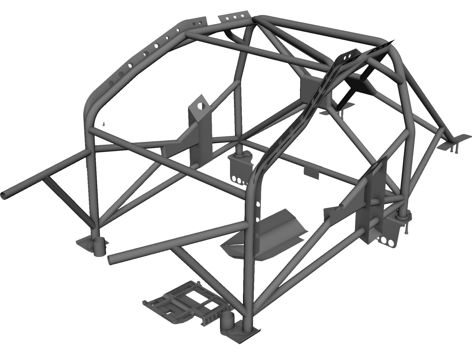 Car Roll Bar 3d Cad Model 3d Cad Browser
