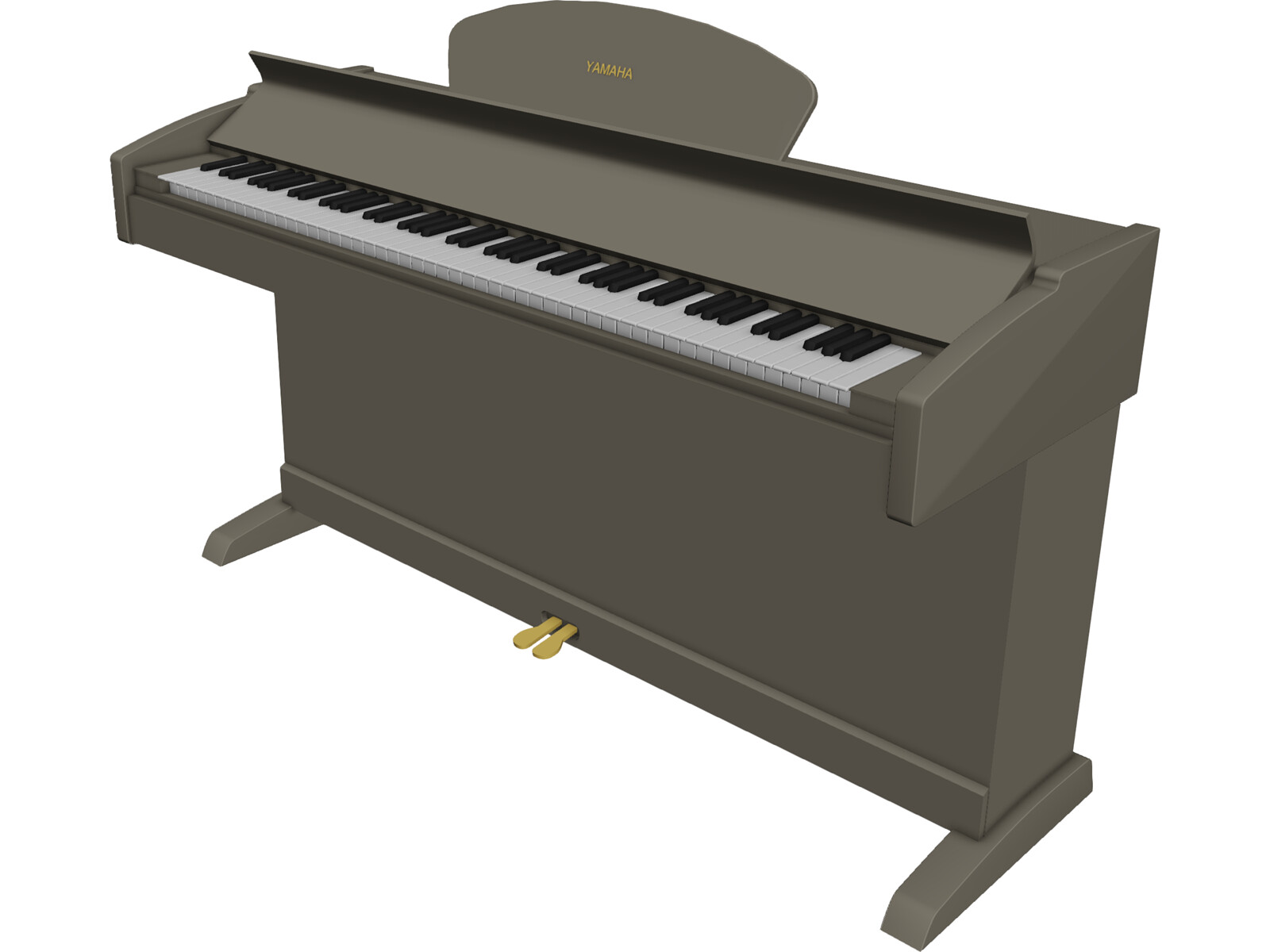 Piano Yamaha 3D Model