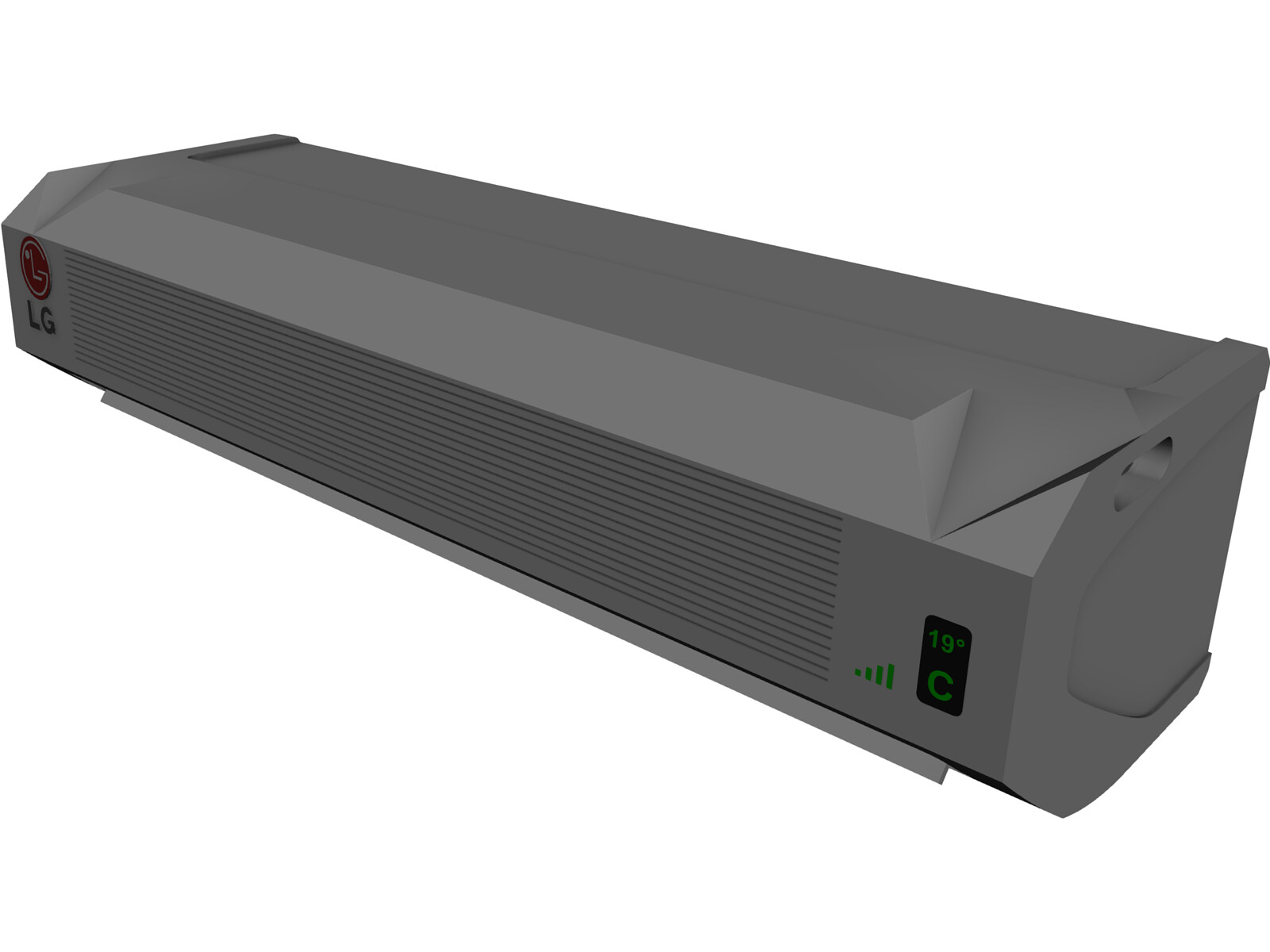 Air Conditioner LG Int 3D Model