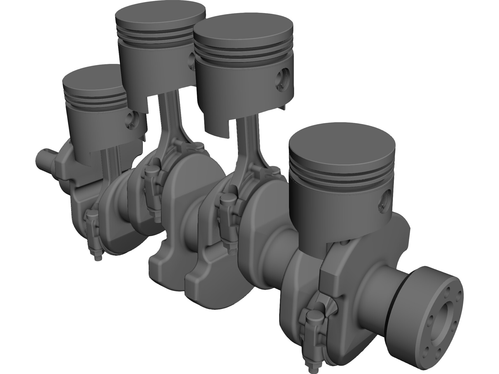 Crank Assembly 3d Cad Model Download 3d Cad Browser
