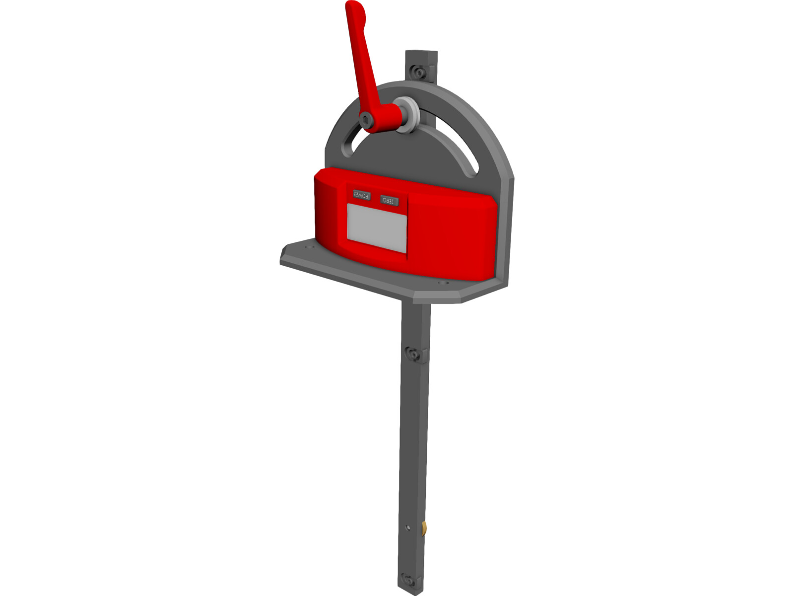 Craftsman Digital Miter Gauge 3D Model