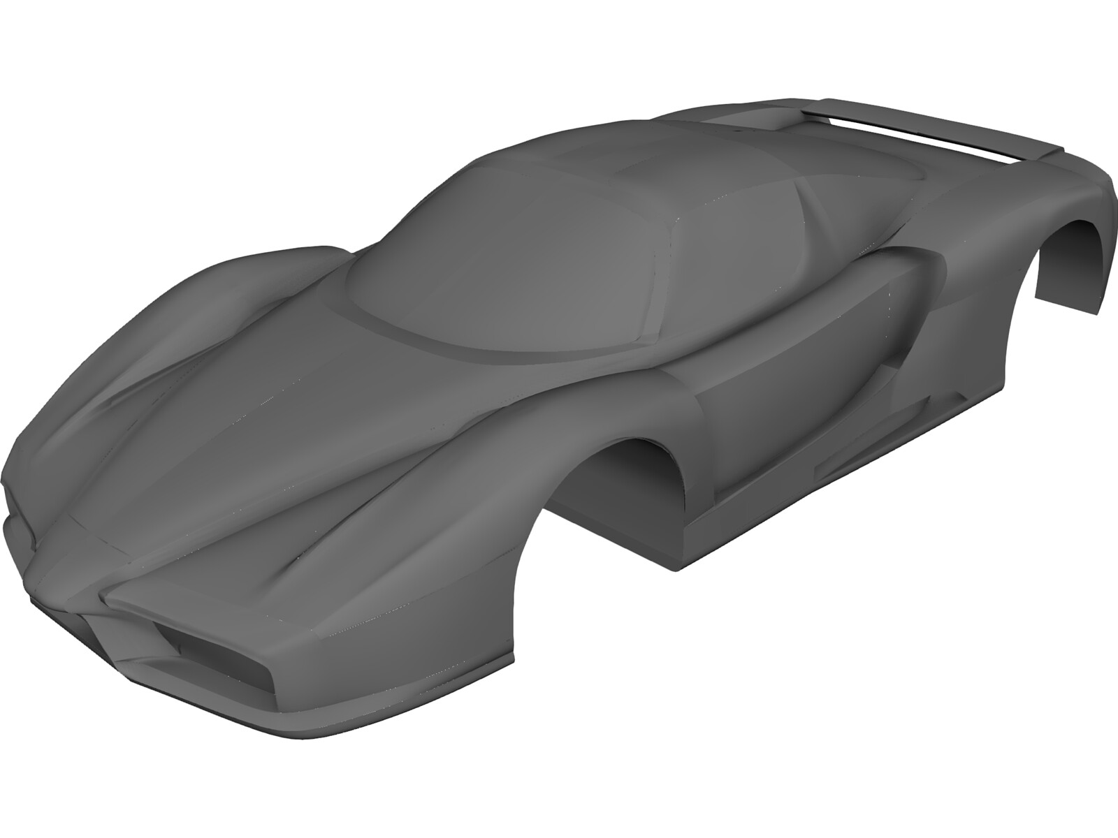Ferrarri Enzo Body 3D Model
