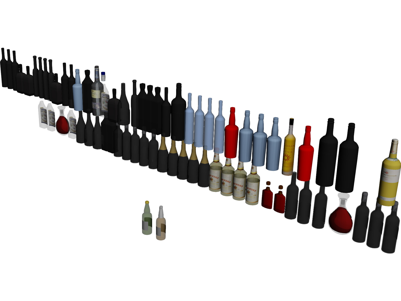 Bar Bottles Collection