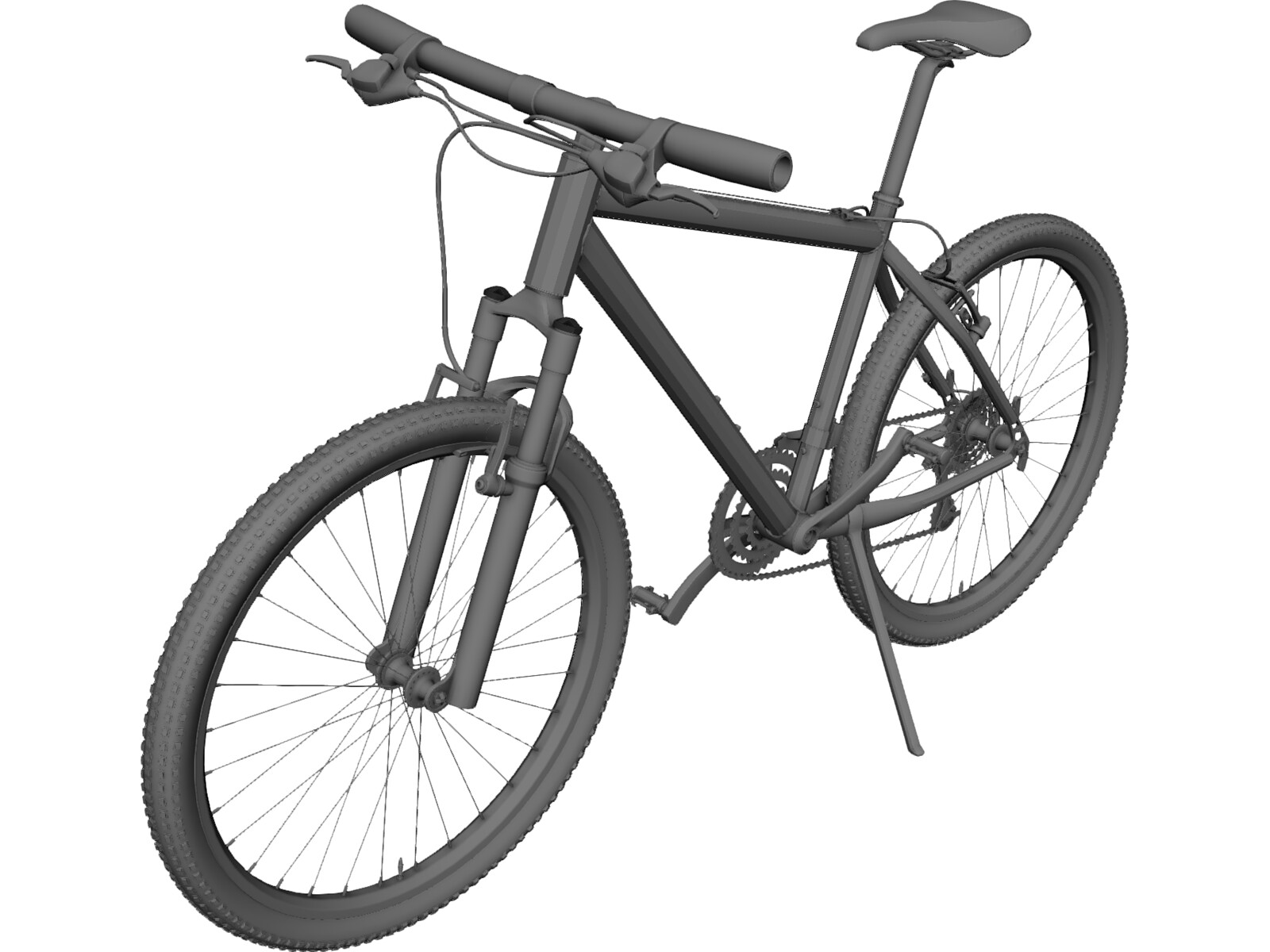 Bike 3d Model Mountain Bike D Model