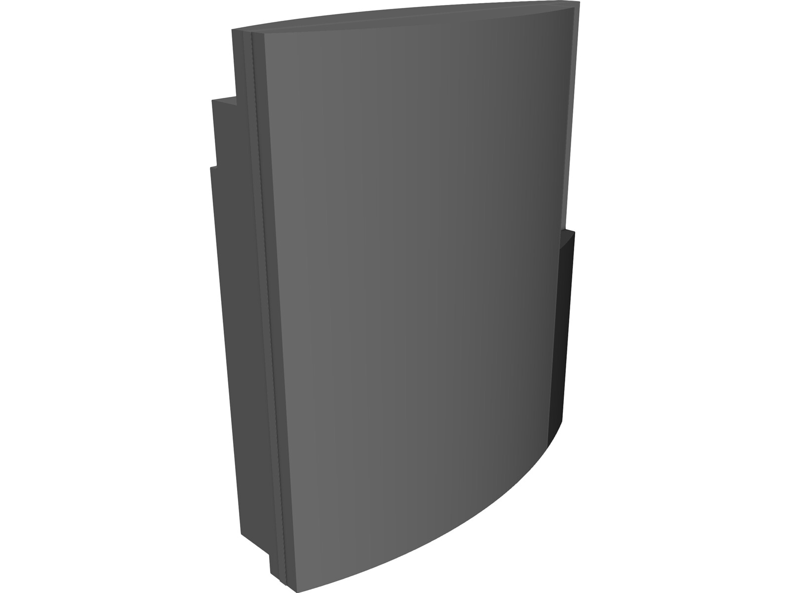 Sony Playstation 3 3D CAD Model