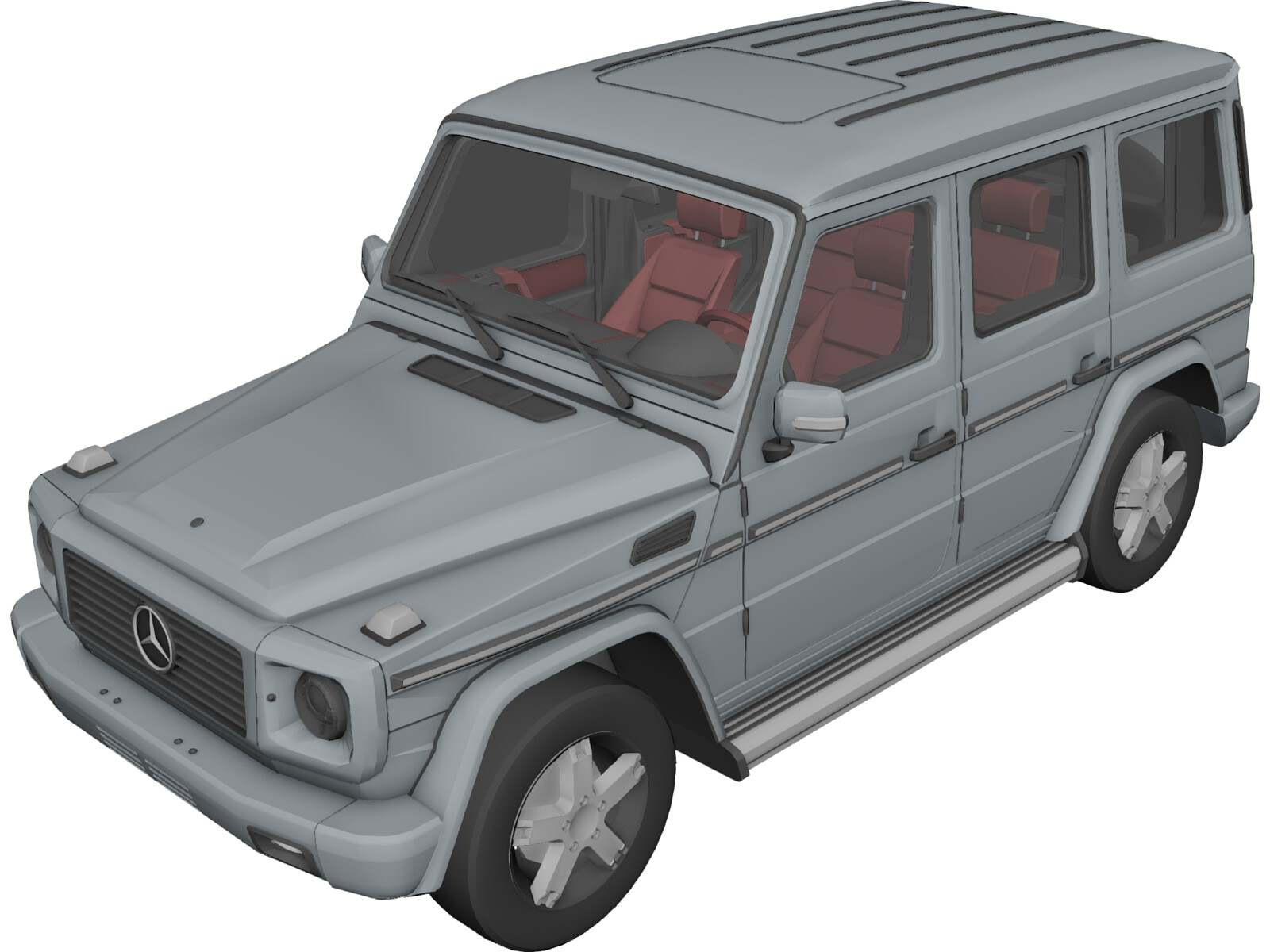 mercedes benz g class 3d model 3d cad browser. Black Bedroom Furniture Sets. Home Design Ideas
