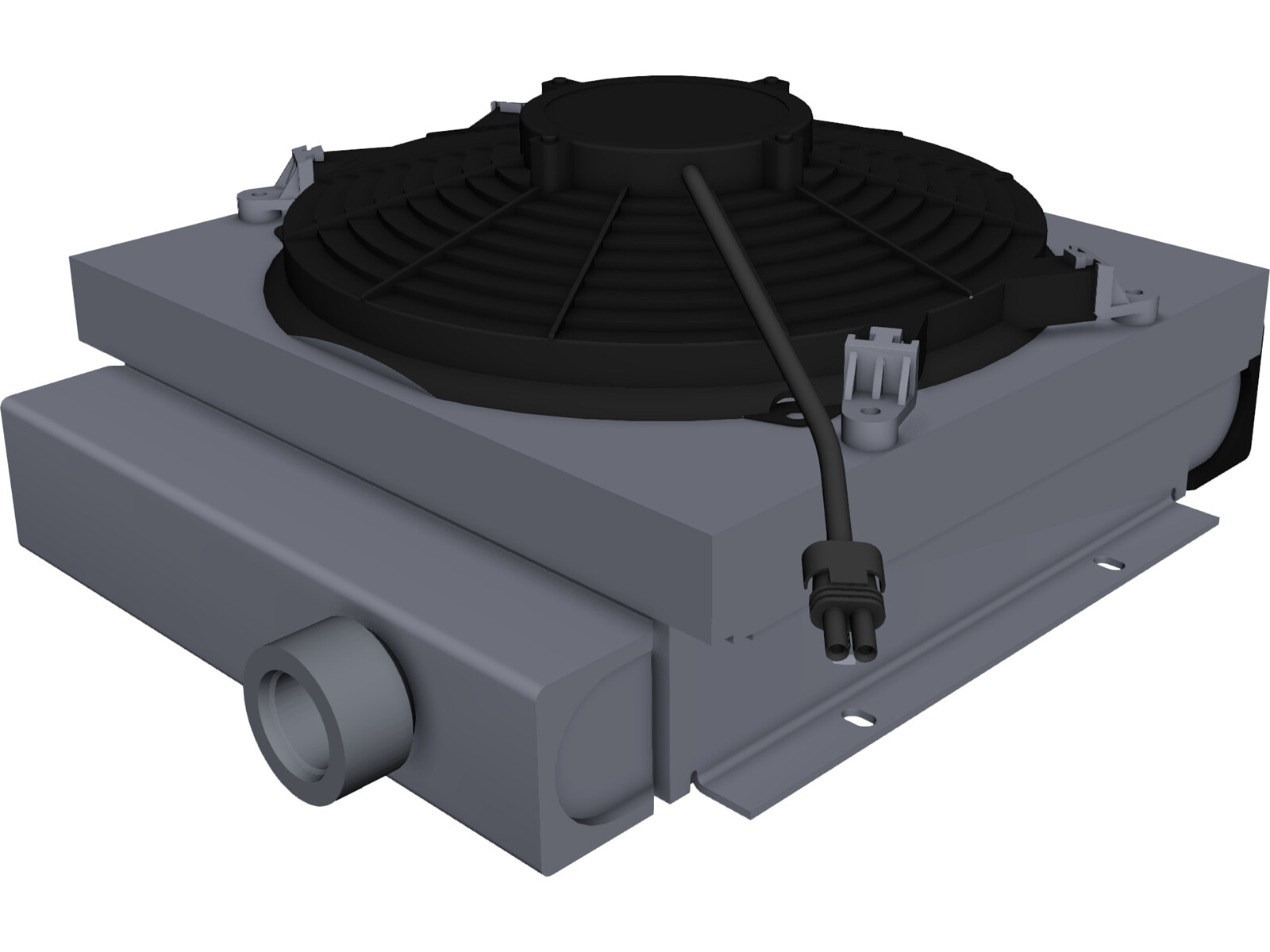 Intercooler DCS-16-12 3D CAD Model
