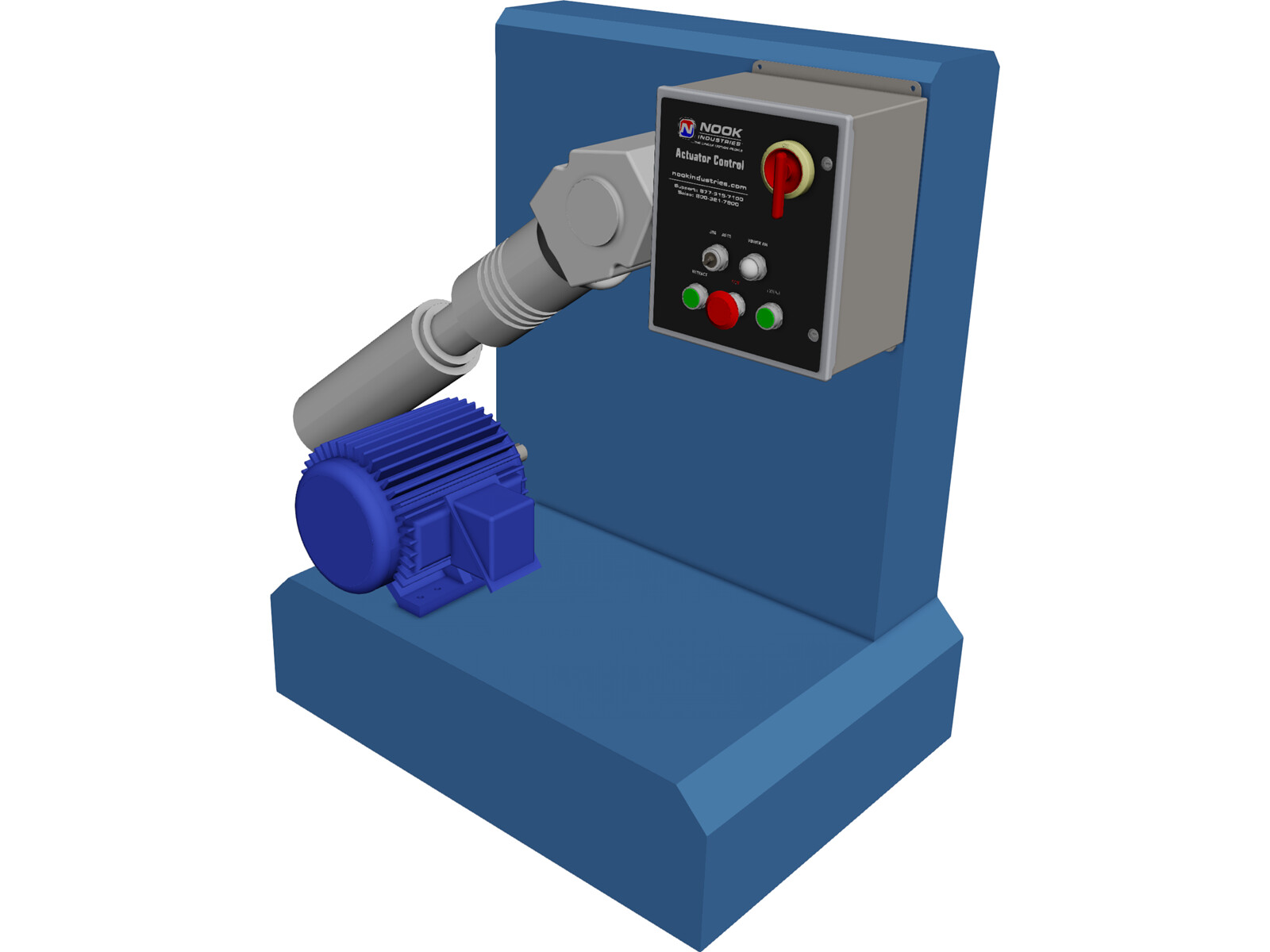 Cryogenic Pump 3D Model
