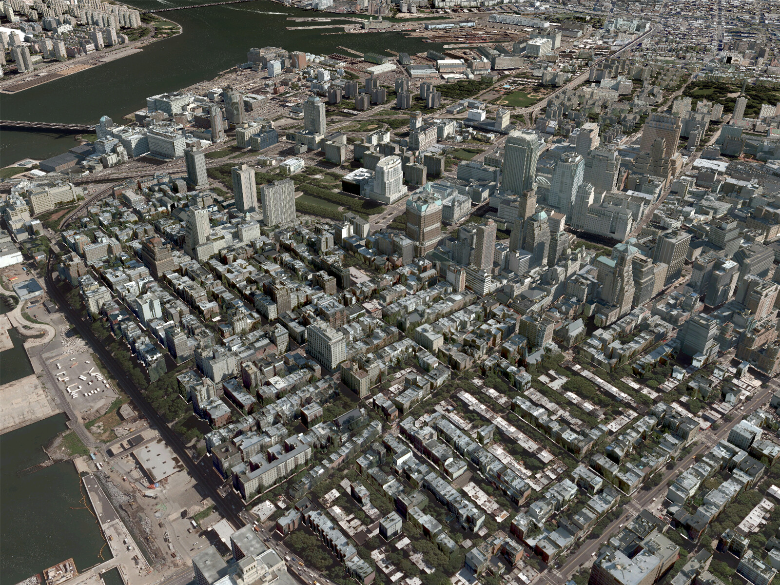 New york city brooklyn 3d model 3d cad browser for Models brooklyn