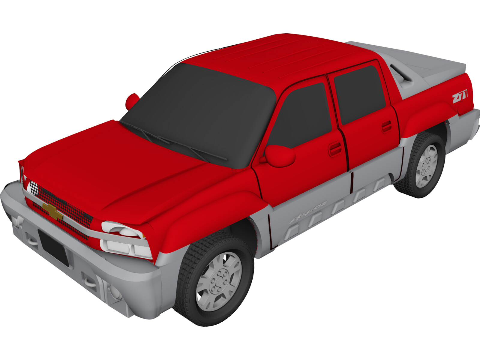 Chevrolet Avalanche (2002) 3D Model