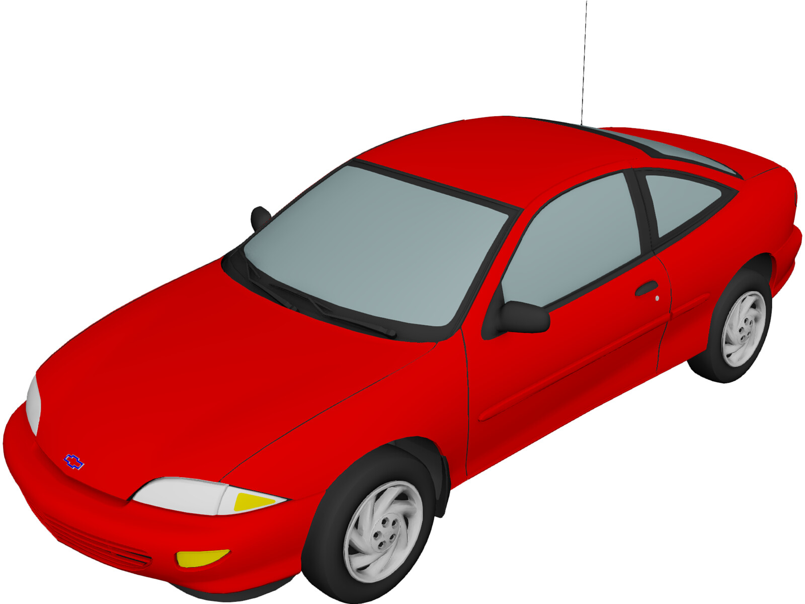 Chevrolet Cavalier Coupe (1998) 3D Model