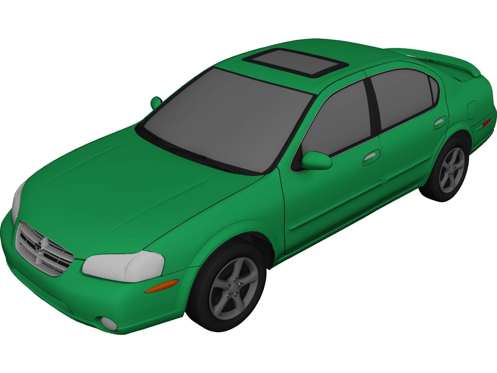 Nissan Maxima Se 1999 3d Model 3d Cad Browser