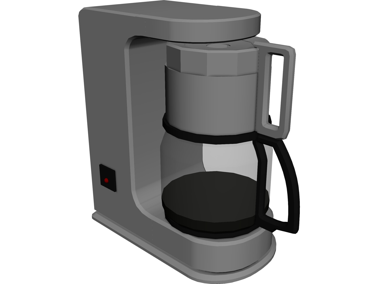 Coffee Maker 3d Model Download 3d Cad Browser