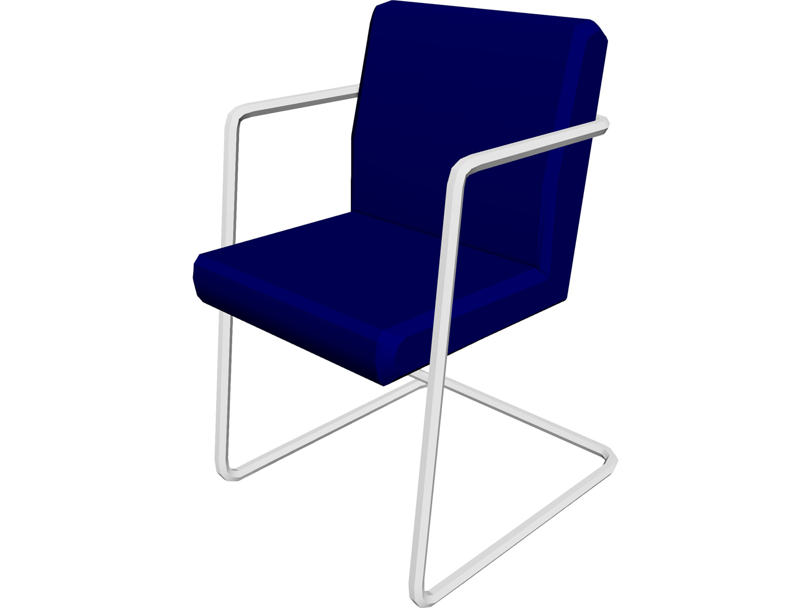 Chair 1950 3d model 3d cad browser for Chair 3d model maya