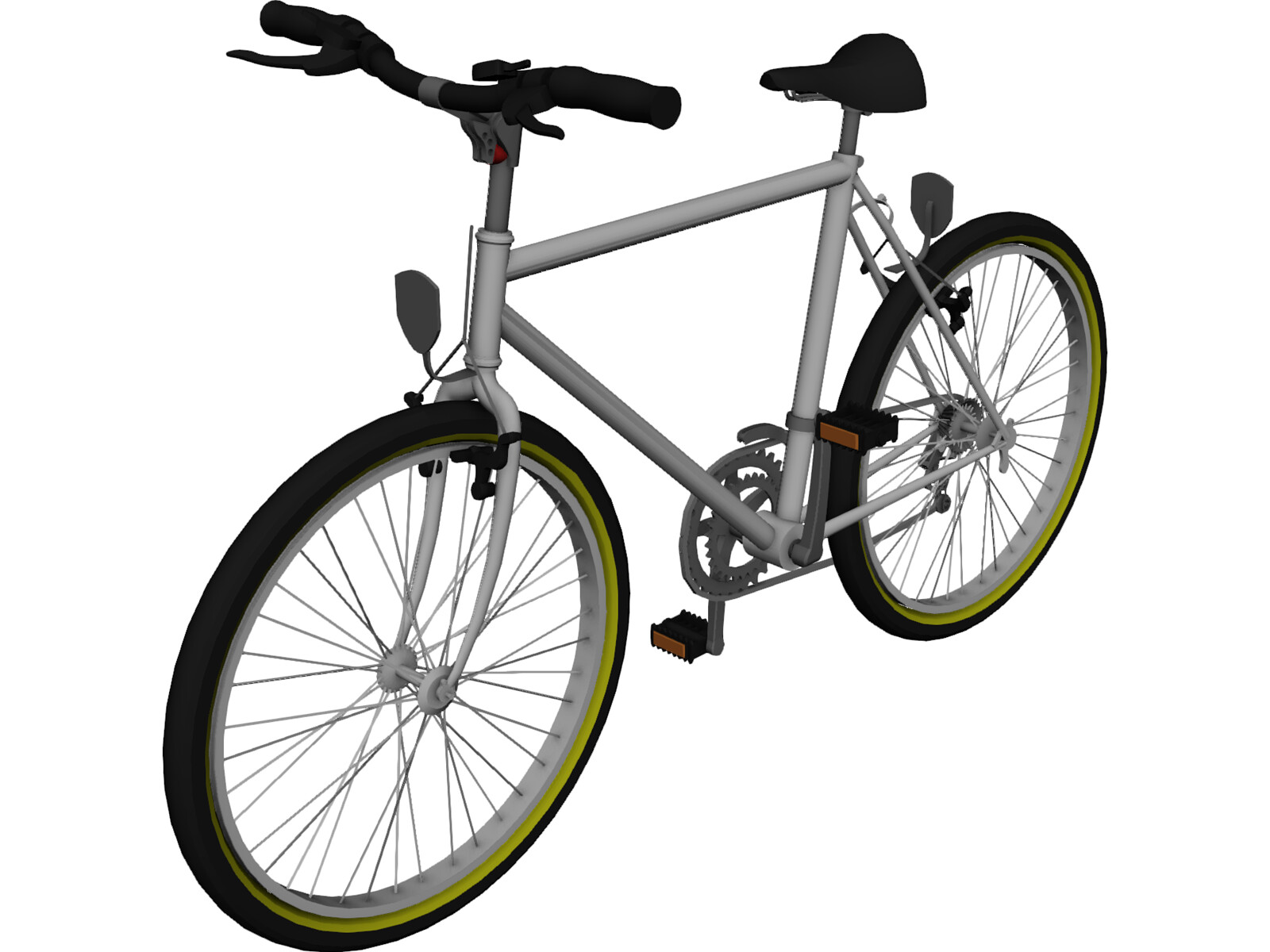 Bicycle 3d Models 3d Cad Browser Motorcycle Review And
