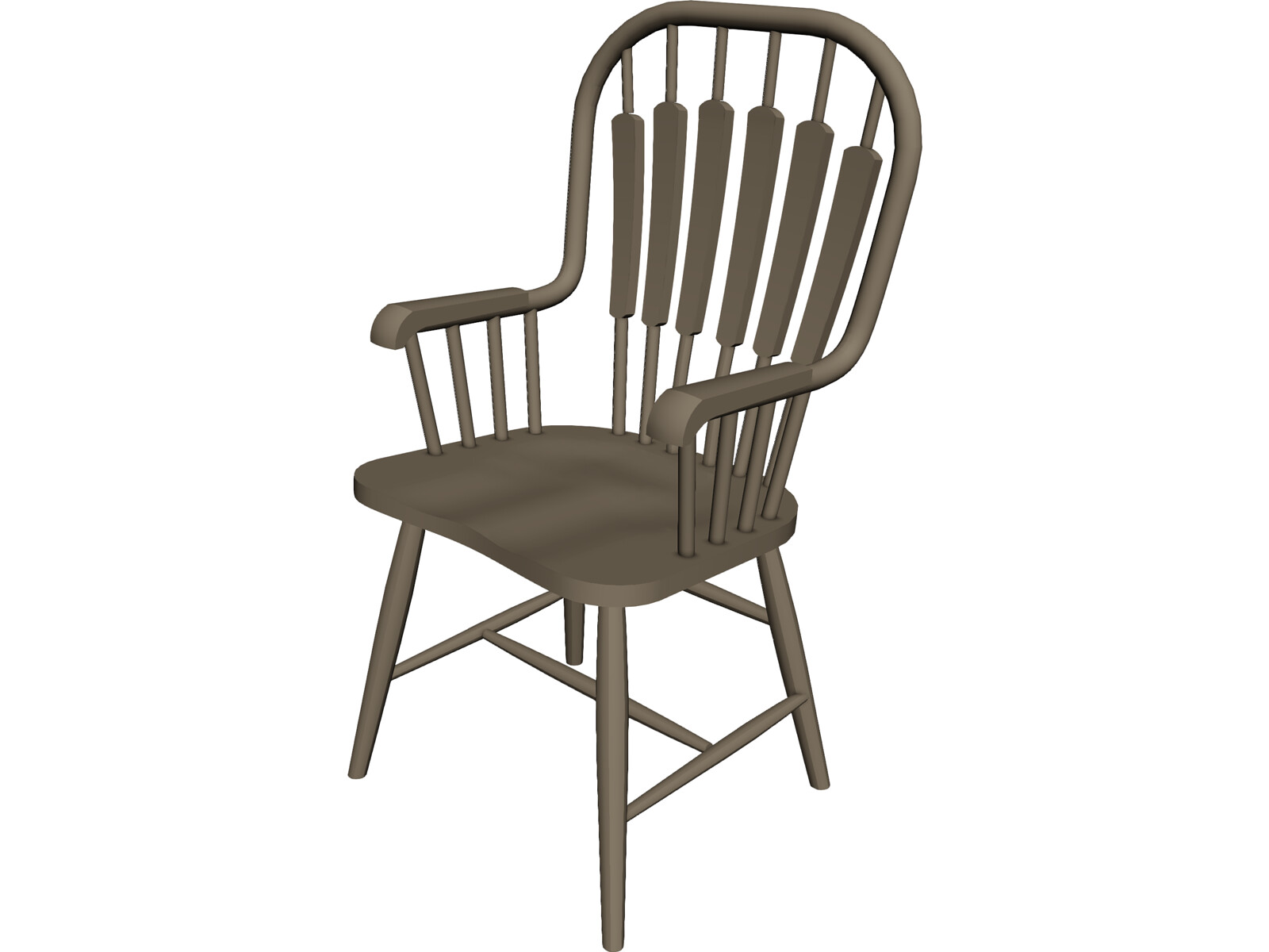 Chair wooden 3d model 3d cad browser for Chair 3d model maya