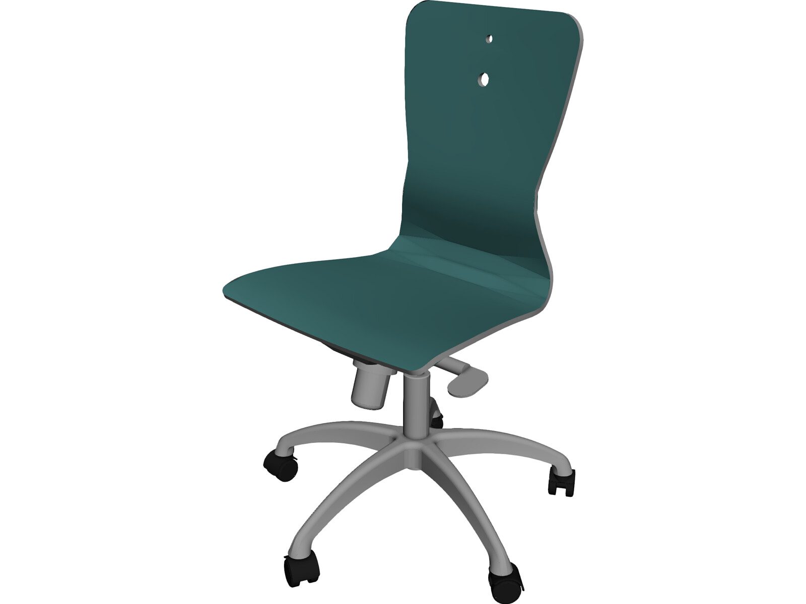 3d office chair model for maya for Chair 3d model maya