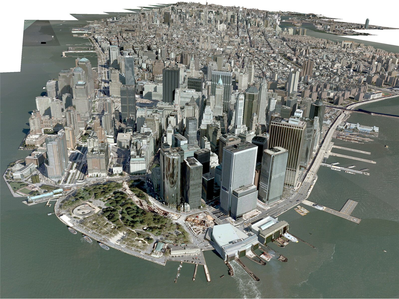 New York City Manhattan 3d Model 3d Cad Browser