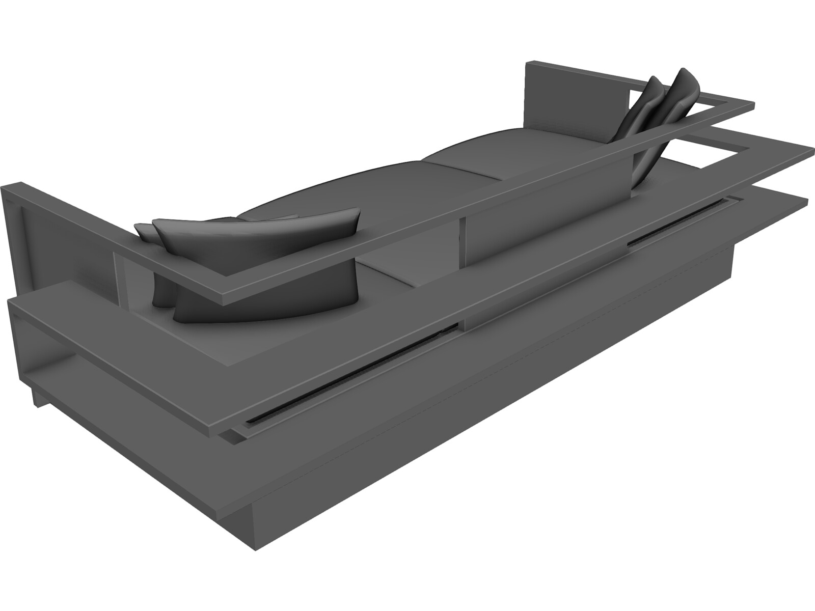 Sling Sofa 3D Model Download - 3D CAD Browser