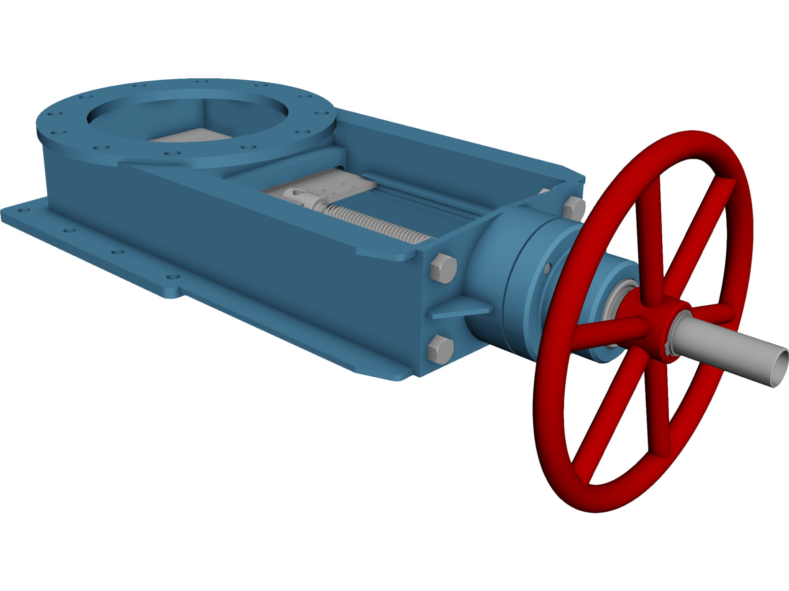 Gate valve 3d cad model 3d cad browser Cad models