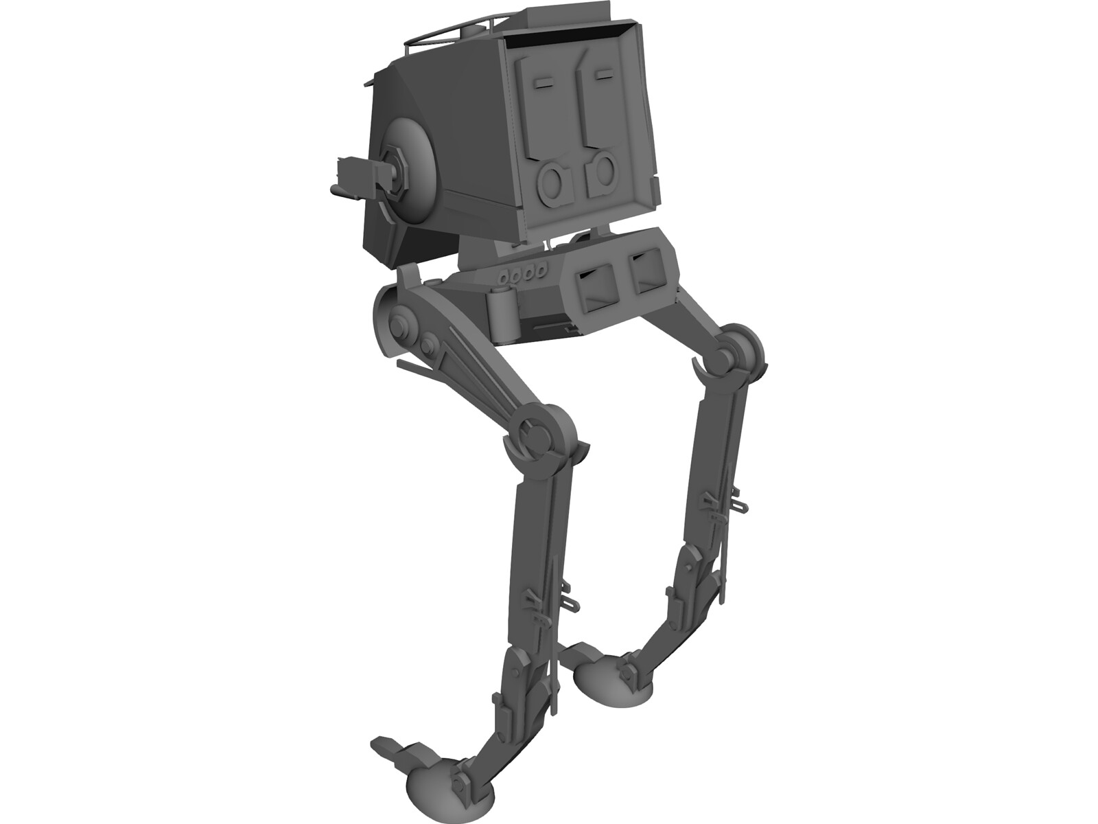 Star Wars ATST 3D Model