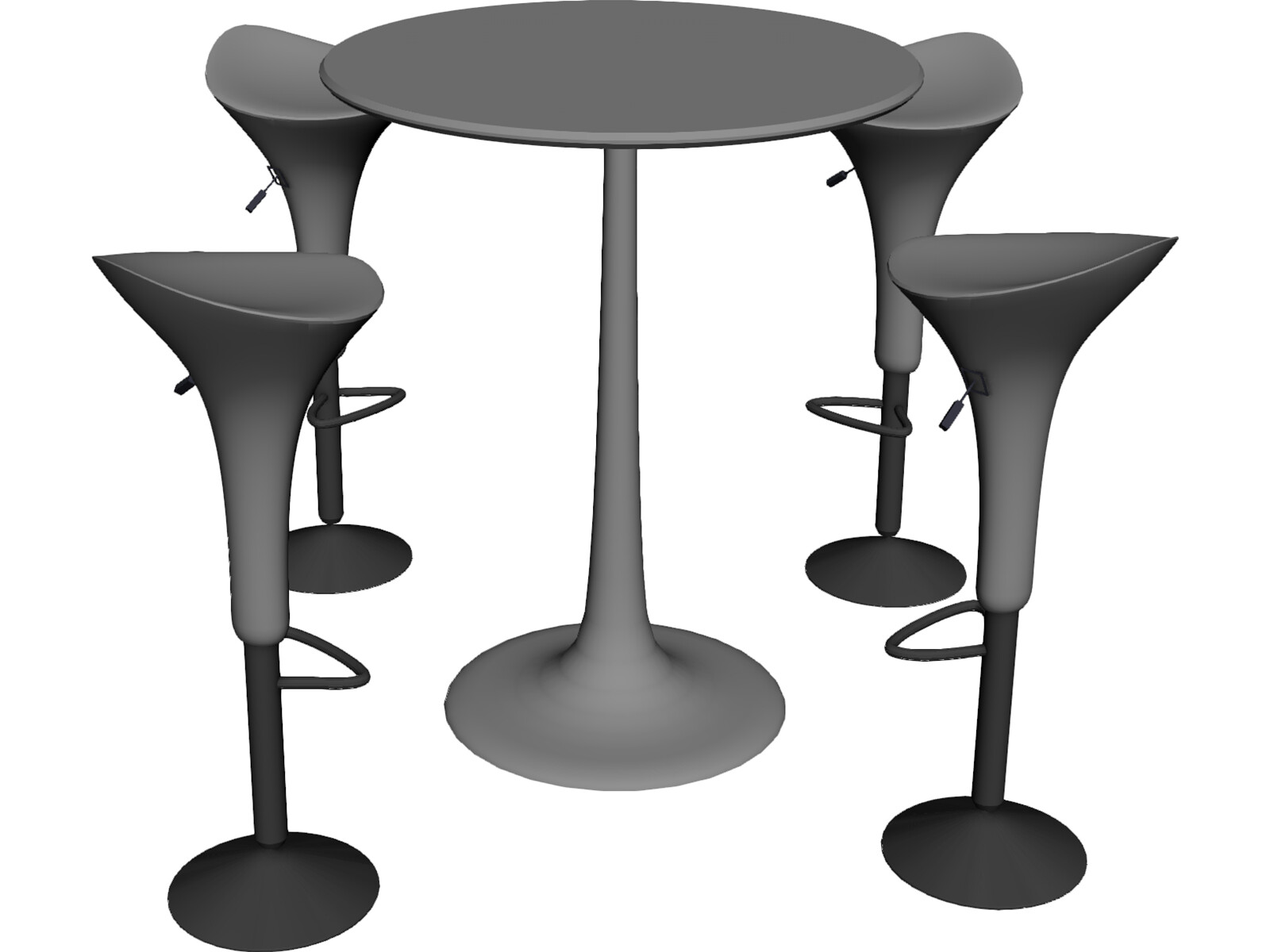 Bar Stool with Table