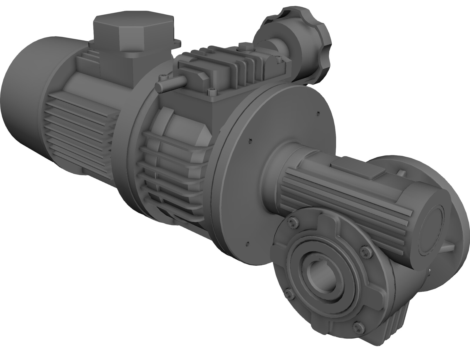 Motor Reductor 3d Cad Model Download 3d Cad Browser