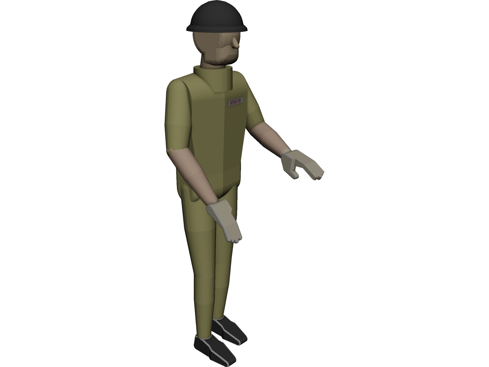 Human Operator 3d Cad Model 3d Cad Browser