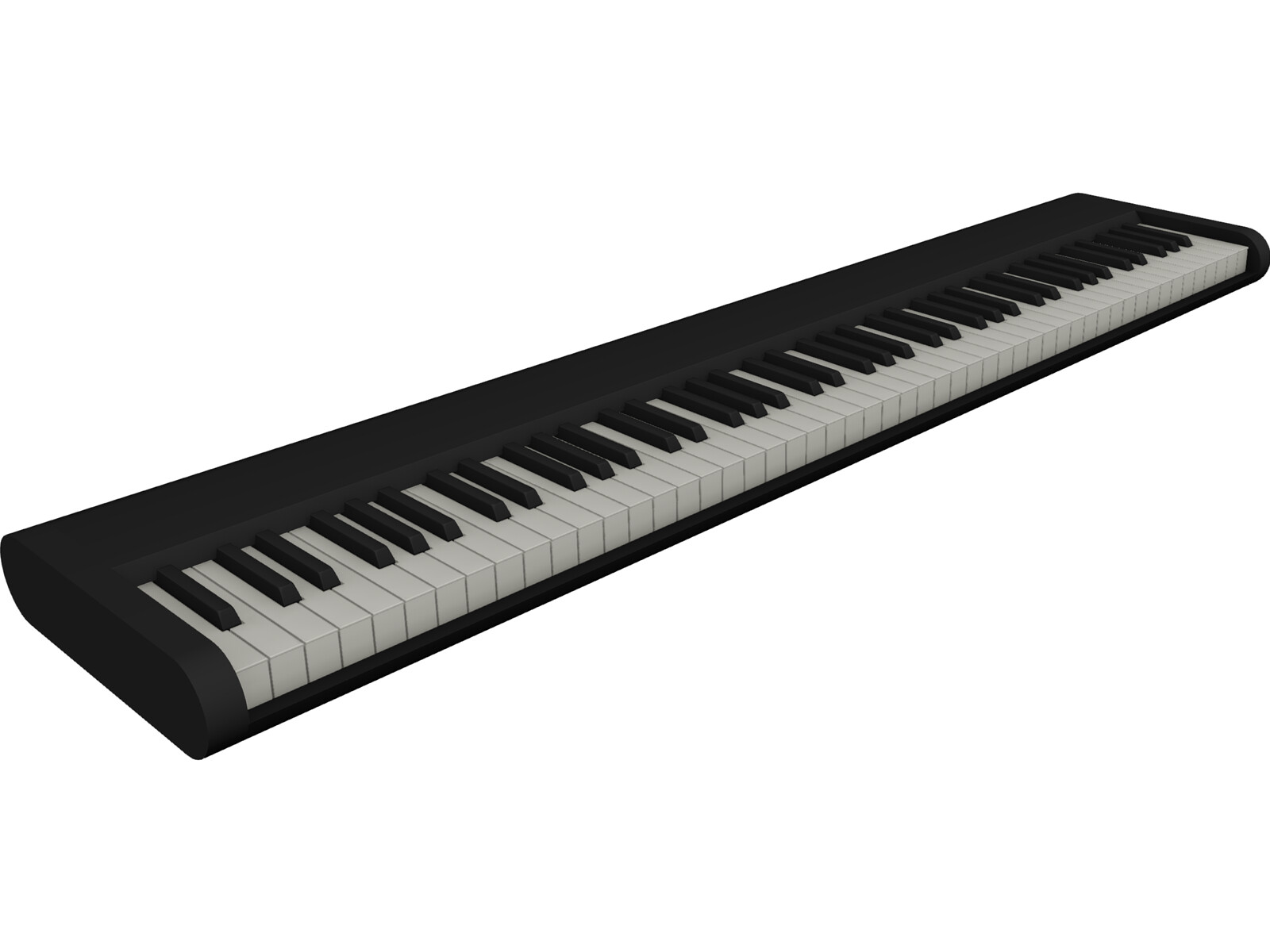 M-Audio Keyboard 3D Model